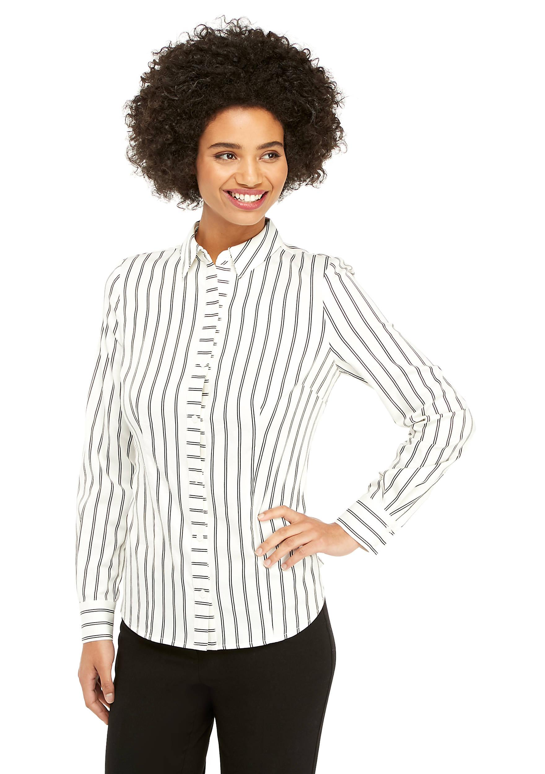 2df5be01 The Limited. Women's Striped Button Down Shirt
