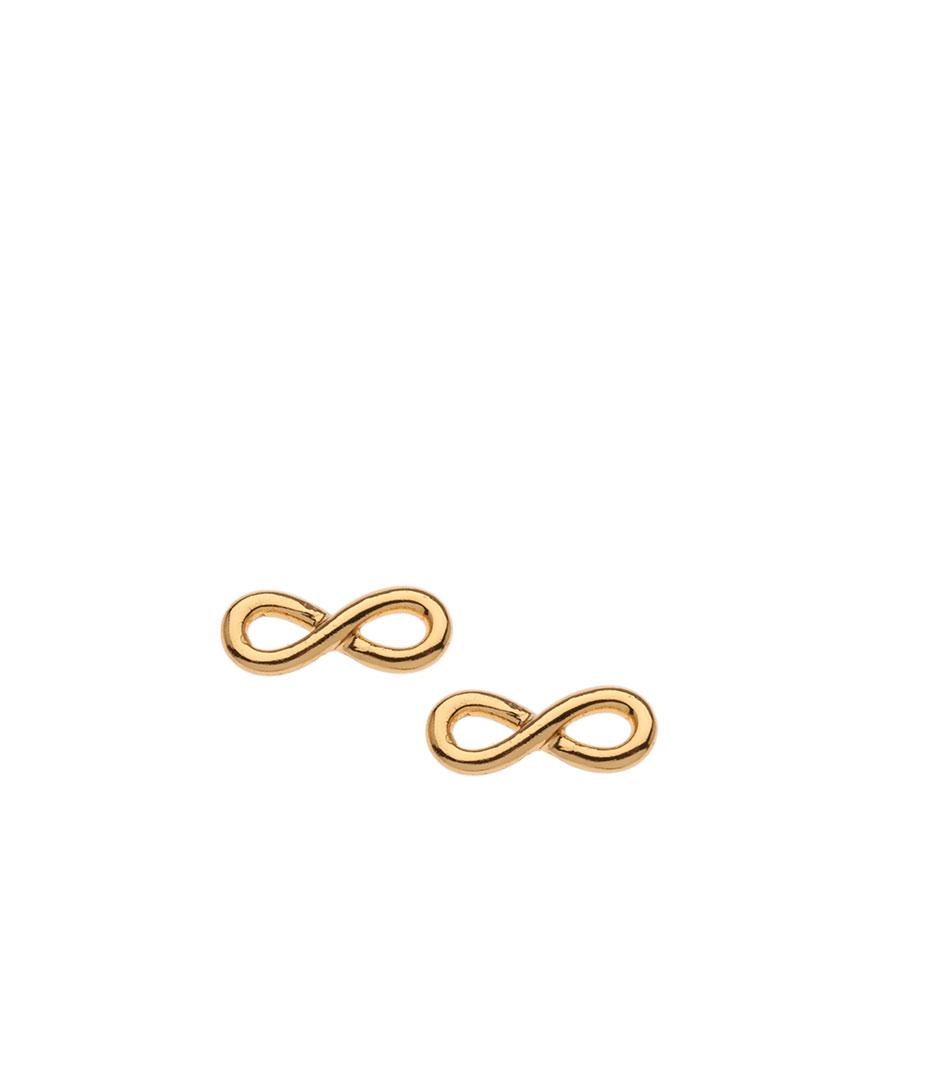 infinity silver image tone rose gold sabo earrings thomas sterling stud