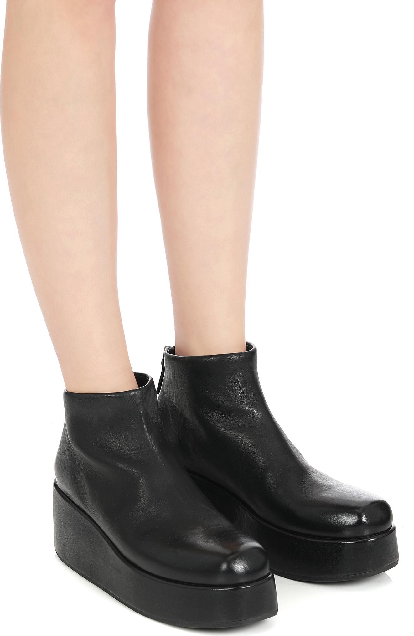 Marsèll Black Scappa Boots DZxwF
