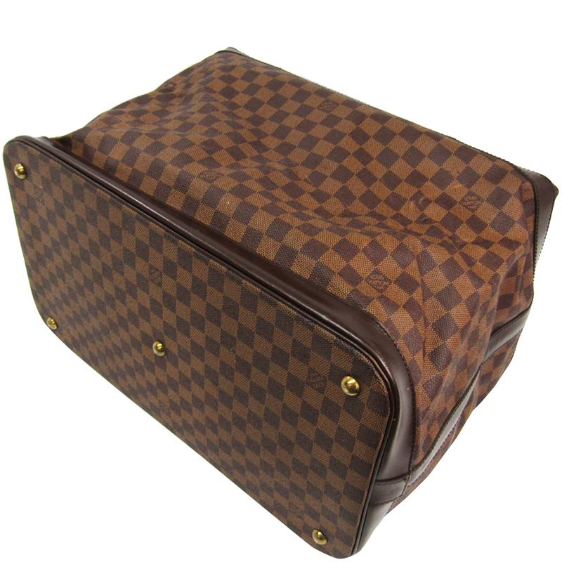 af4cd1f1f449 Louis Vuitton - Brown Damier Ebene Canvas Grimaud Travel Bag - Lyst. View  fullscreen