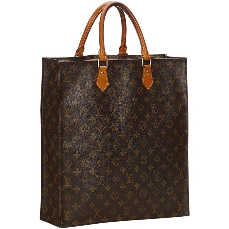 e731af6422e Louis Vuitton - Brown Monogram Canvas Sac Plat Bag - Lyst. View fullscreen