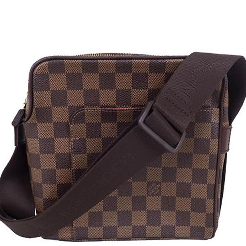 Lyst - Louis Vuitton Damier Ebene Canvas Olav Pm Messenger Bag in ... 8af0fa57e828b