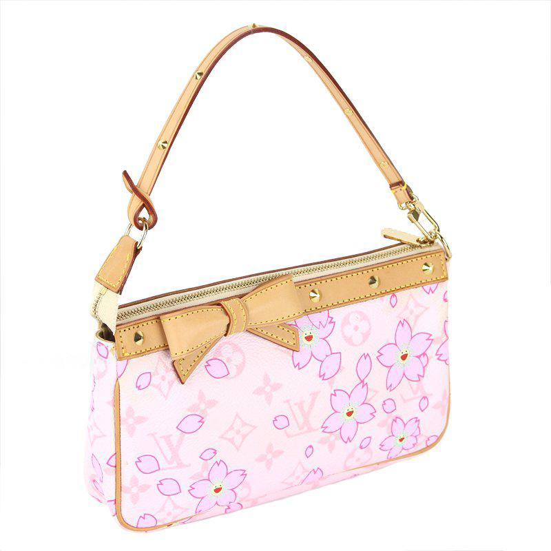 f8d828c859ee Lyst - Louis Vuitton Monogram Canvas Limited Edition Cherry Blossom ...