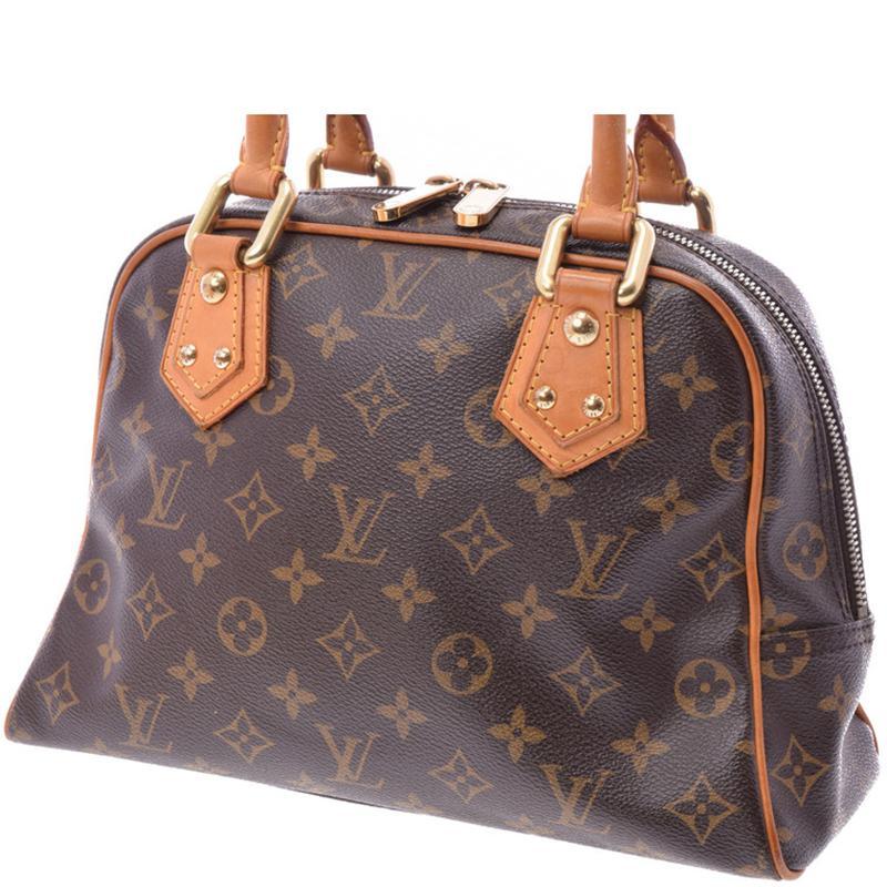 675ac96c1cbb Louis Vuitton - Brown Monogram Canvas Manhattan Pm Bag - Lyst. View  fullscreen
