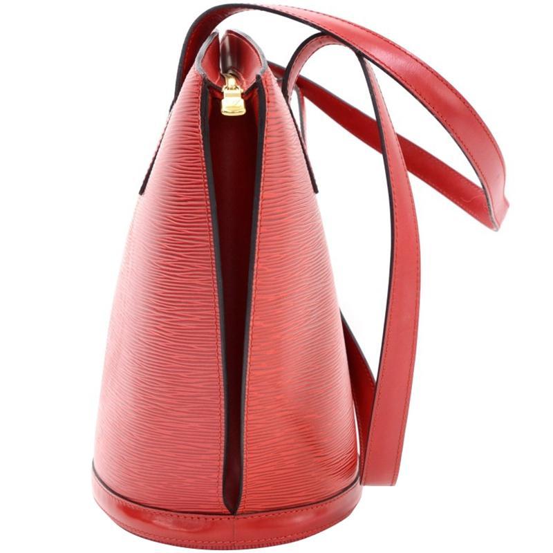 325ff256495a Louis Vuitton - Red Epi Leather Saint Jacques Gm Bag - Lyst. View fullscreen