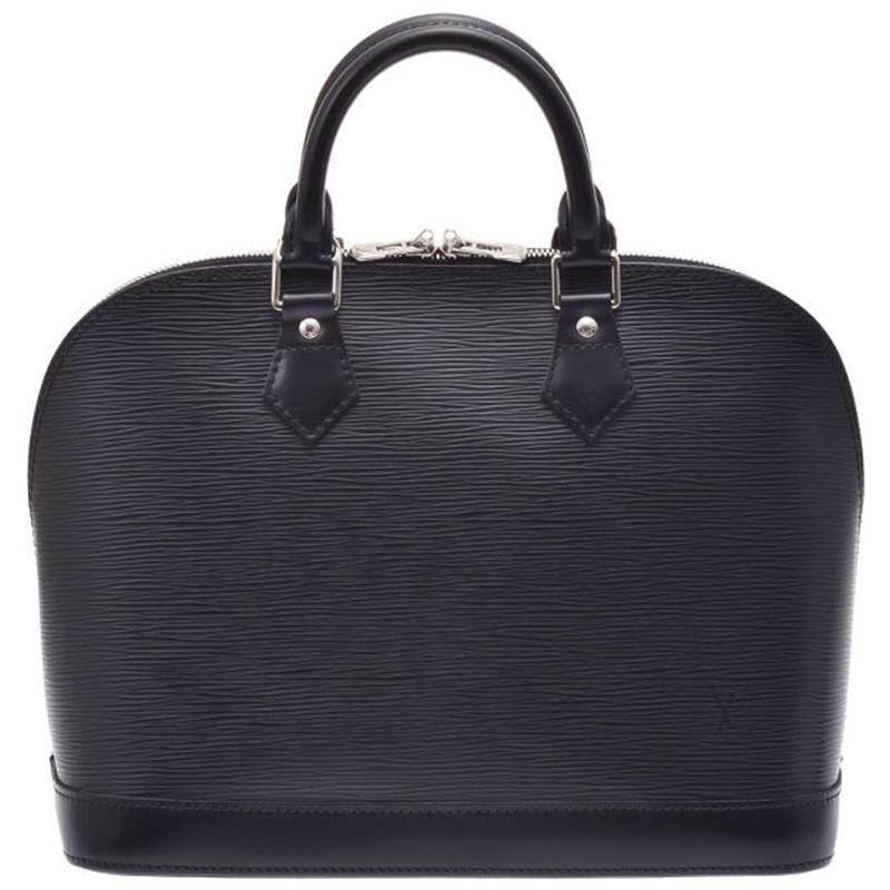 f1ce98314b41 Lyst - Louis Vuitton Noir Epi Leather Alma Pm Bag in Black for Men