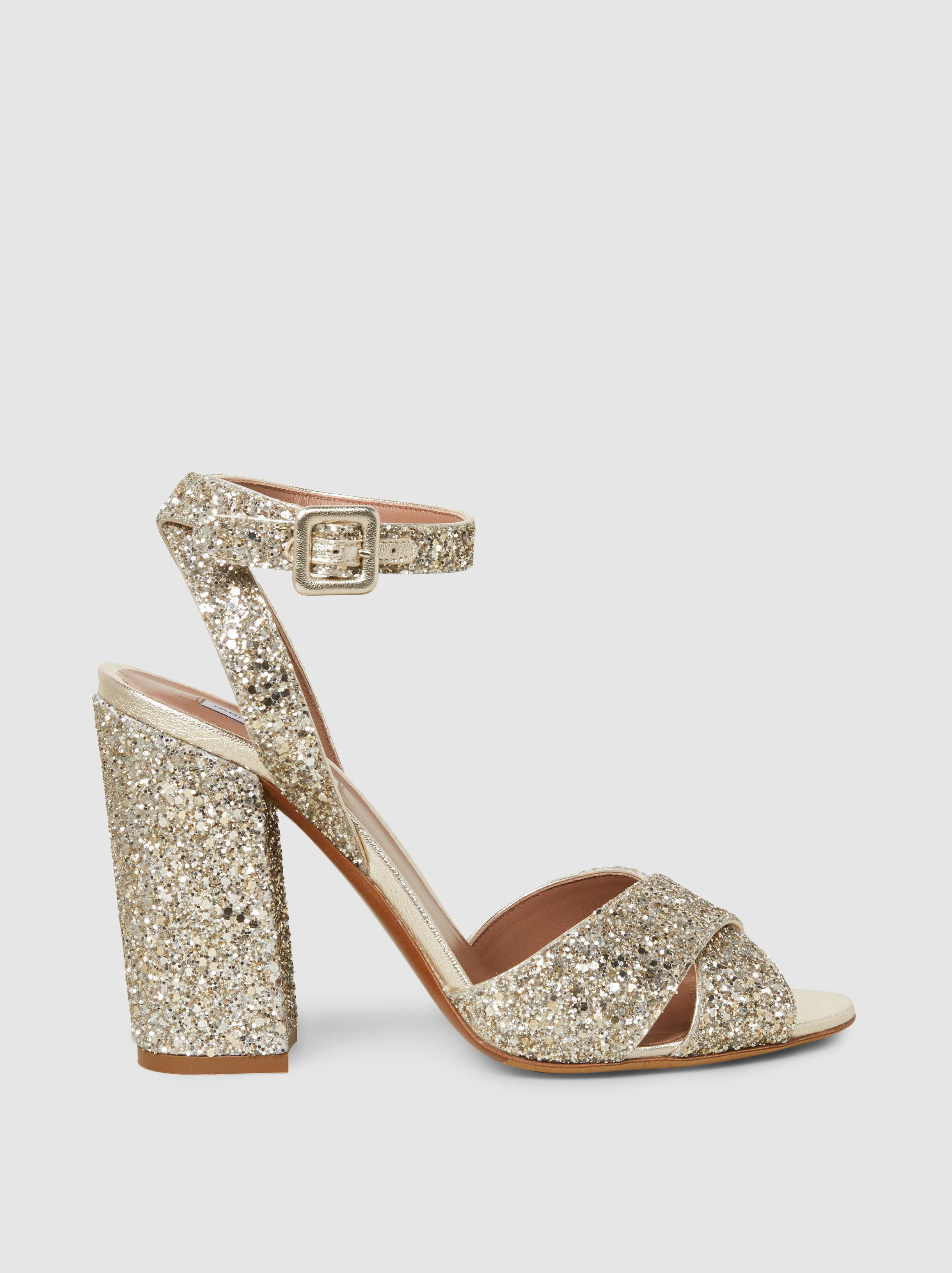 Tabitha Simmons Connie Glitter Sandals fi5Rezu