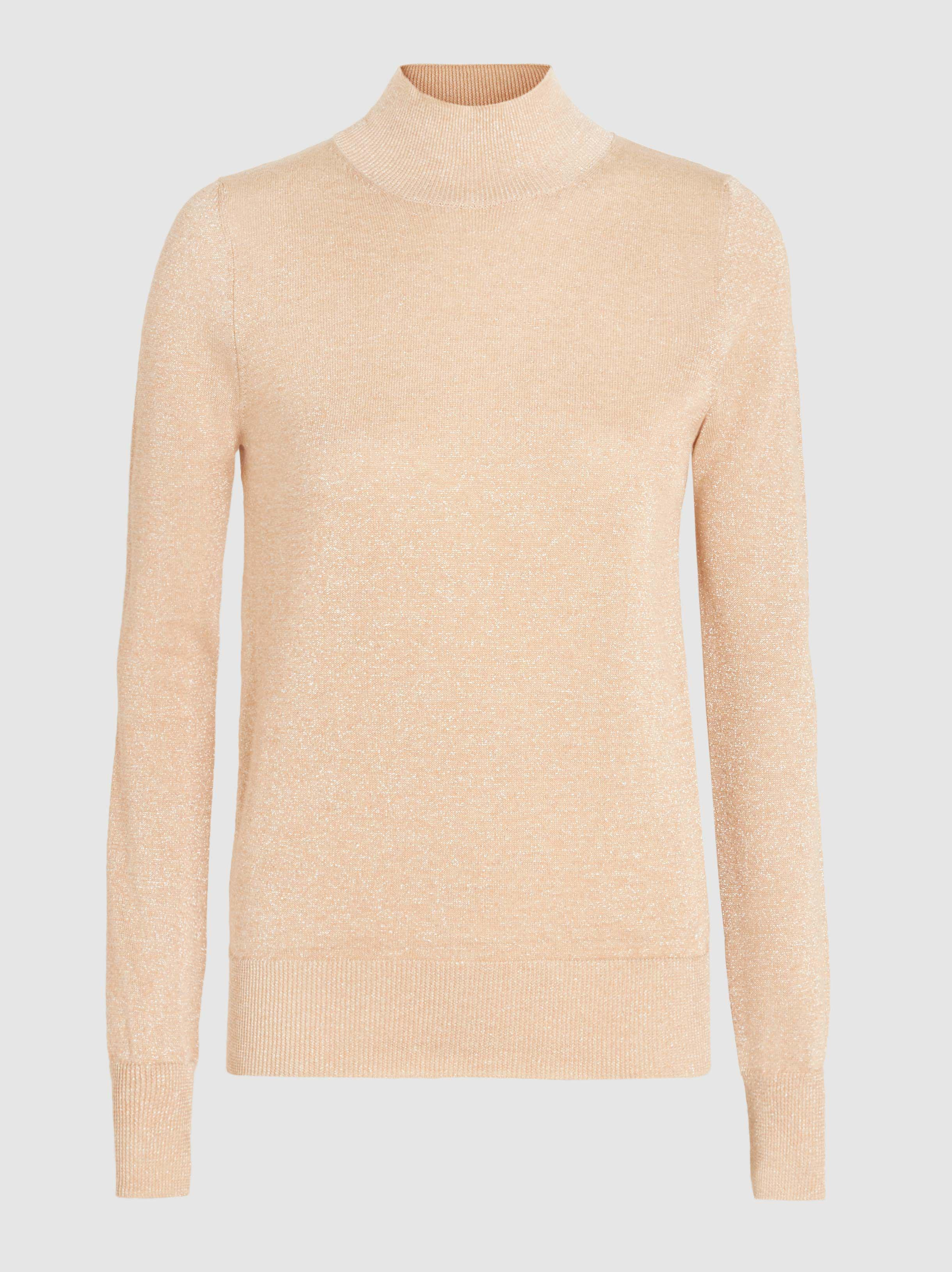 Stucco Metallic Fine-Knit Turtleneck Sweater Joseph Footaction Online New Arrival LK2ZO2q