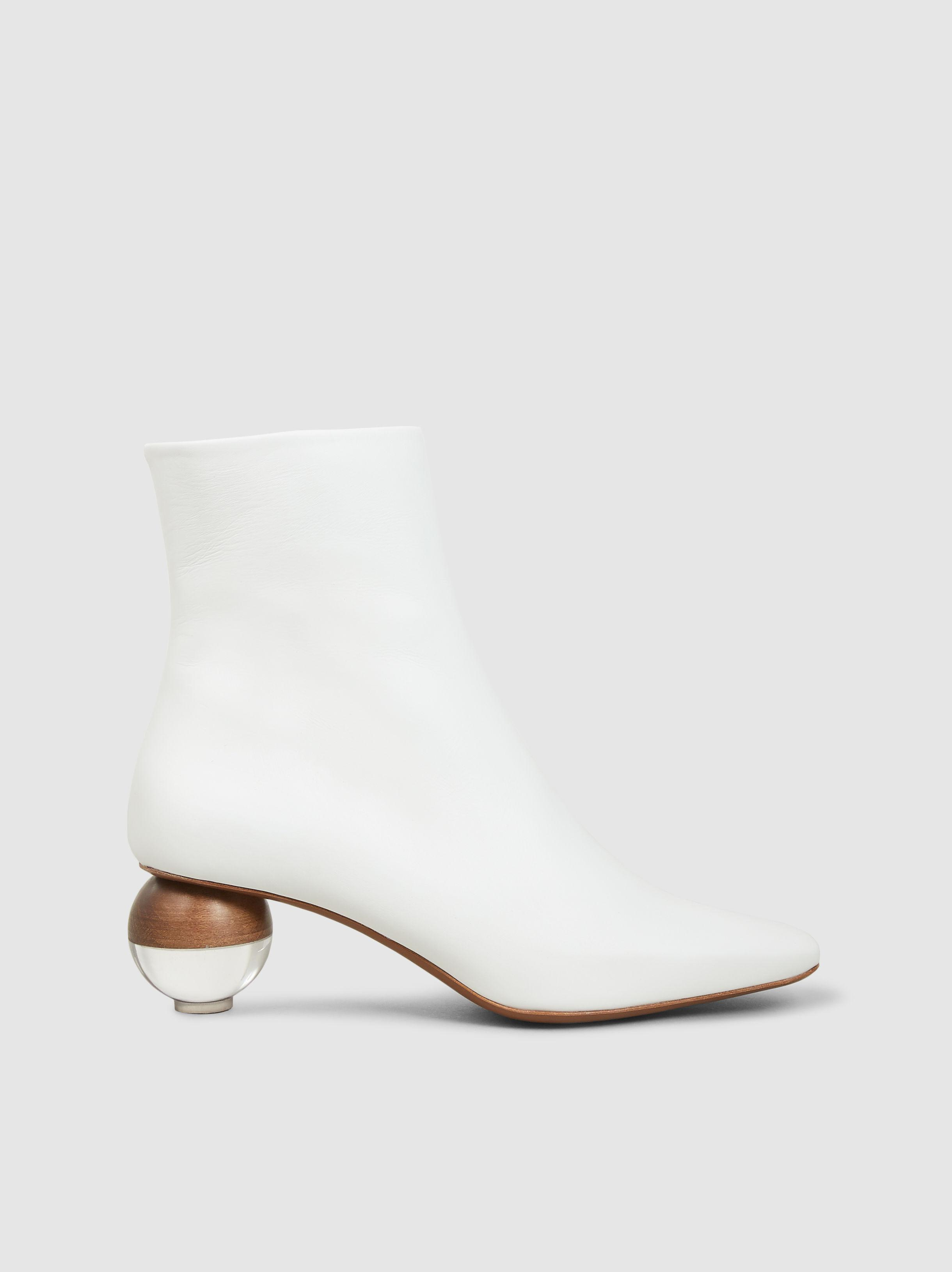 b2c0f9b2da2 Lyst - Neous Encyclia Leather Ankle Boots in White - Save 62%