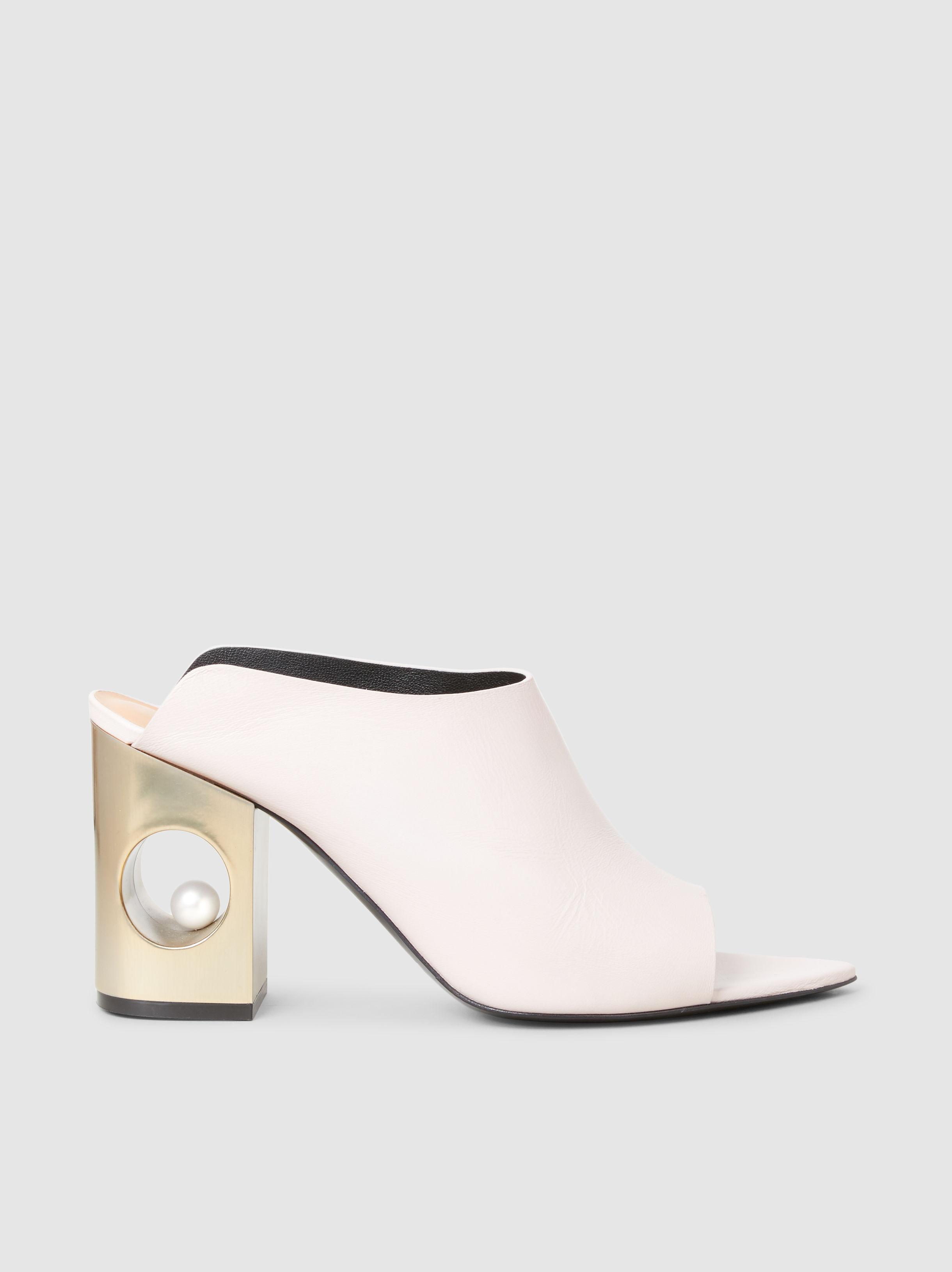 COLIAC Zack leather sandals with heels Lp4toZ