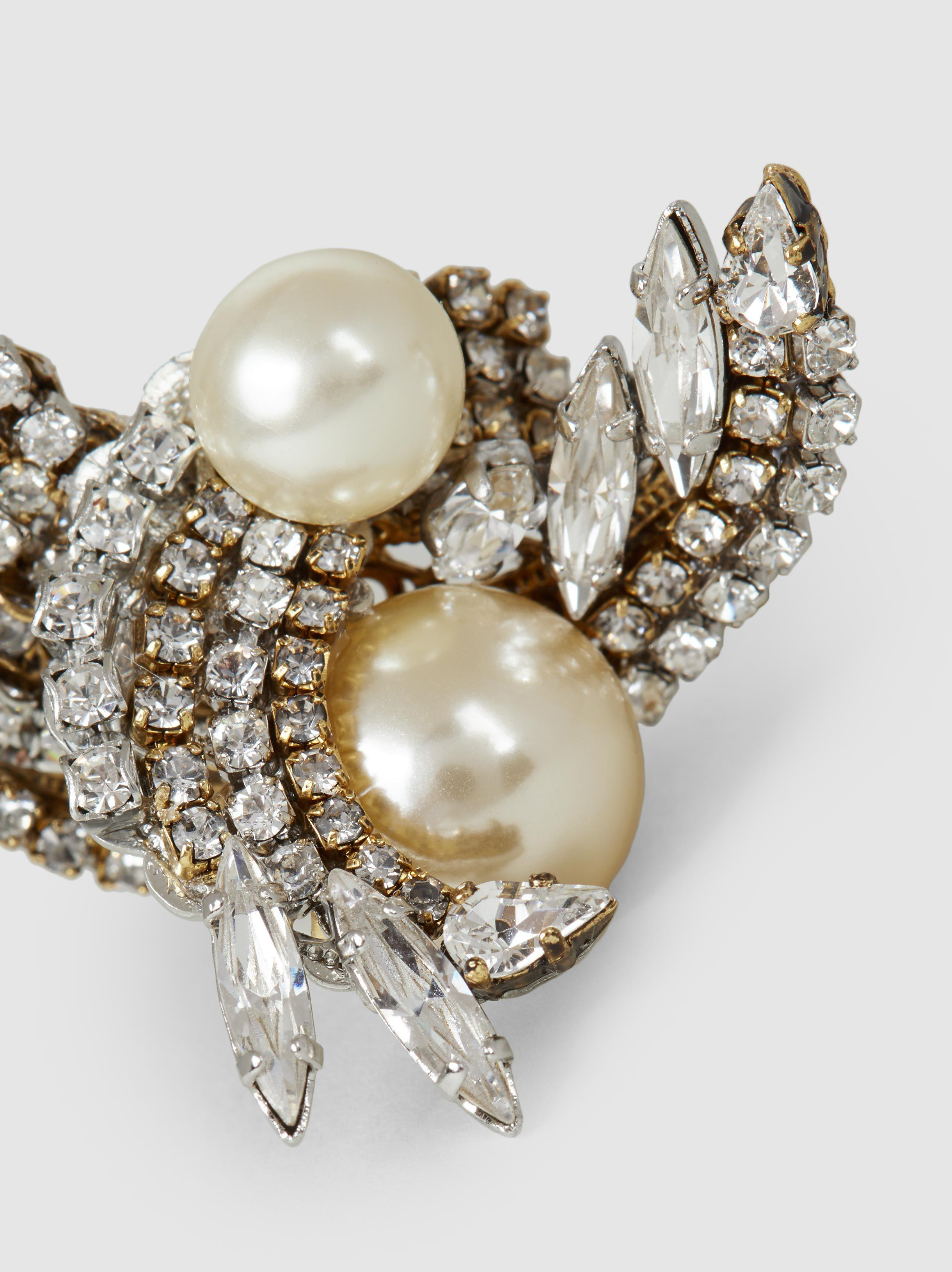 Erickson Beamon Delicate Balance Embellished Gold-Plated Earrings YIl5xH