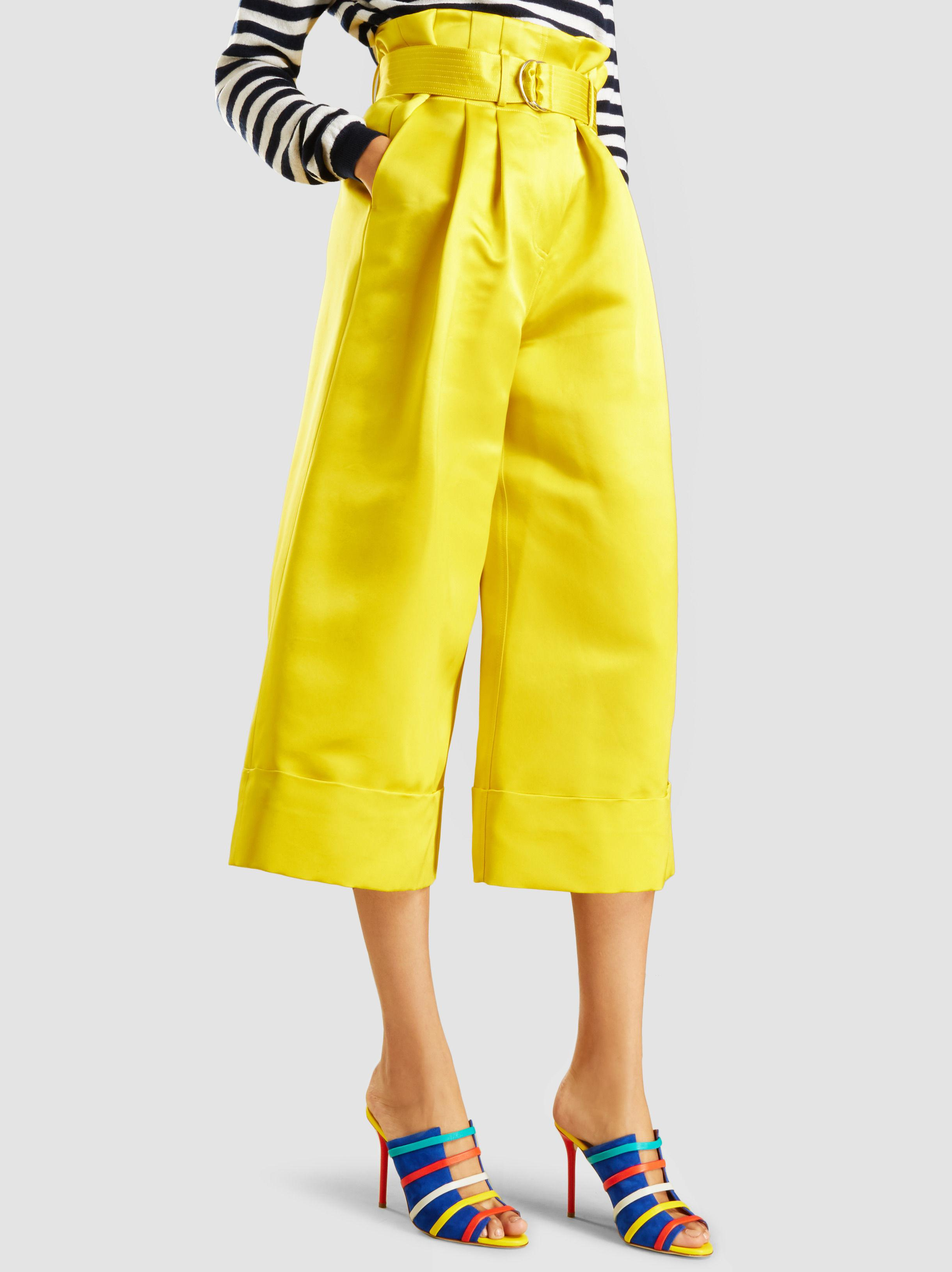 Free Shipping New Arrival Sale Many Kinds Of Duchess Silk-Satin Culottes Adam Lippes Cheap Sale Huge Surprise Clearance Shop For Sale Cheapest heUs1YvssJ