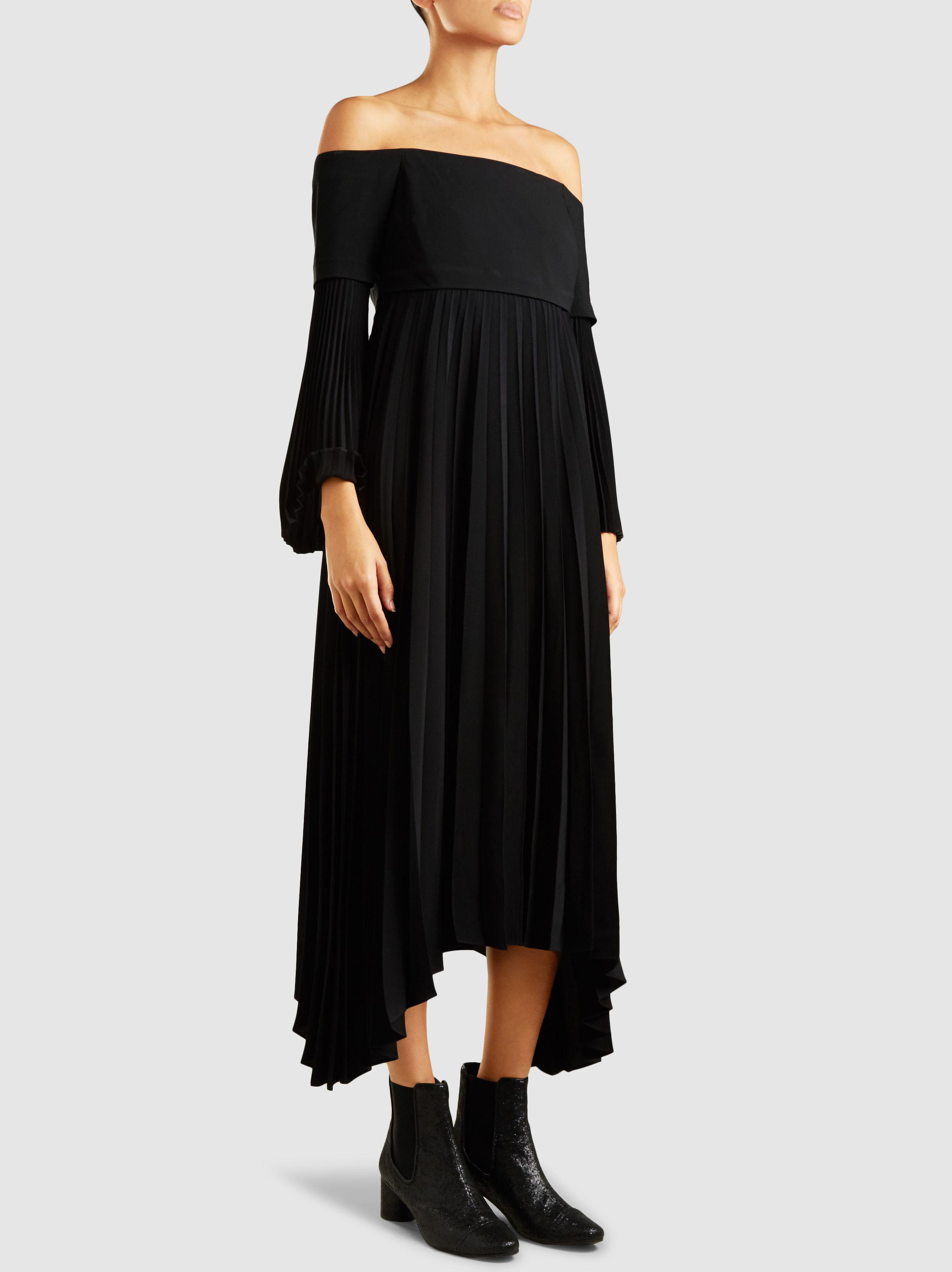 Brand New Unisex Cheap Online Sale Clearance Serena Off-the-Shoulder Crepe Midi Dress A.L.C. Low Price Inexpensive MsY4xZdcLE