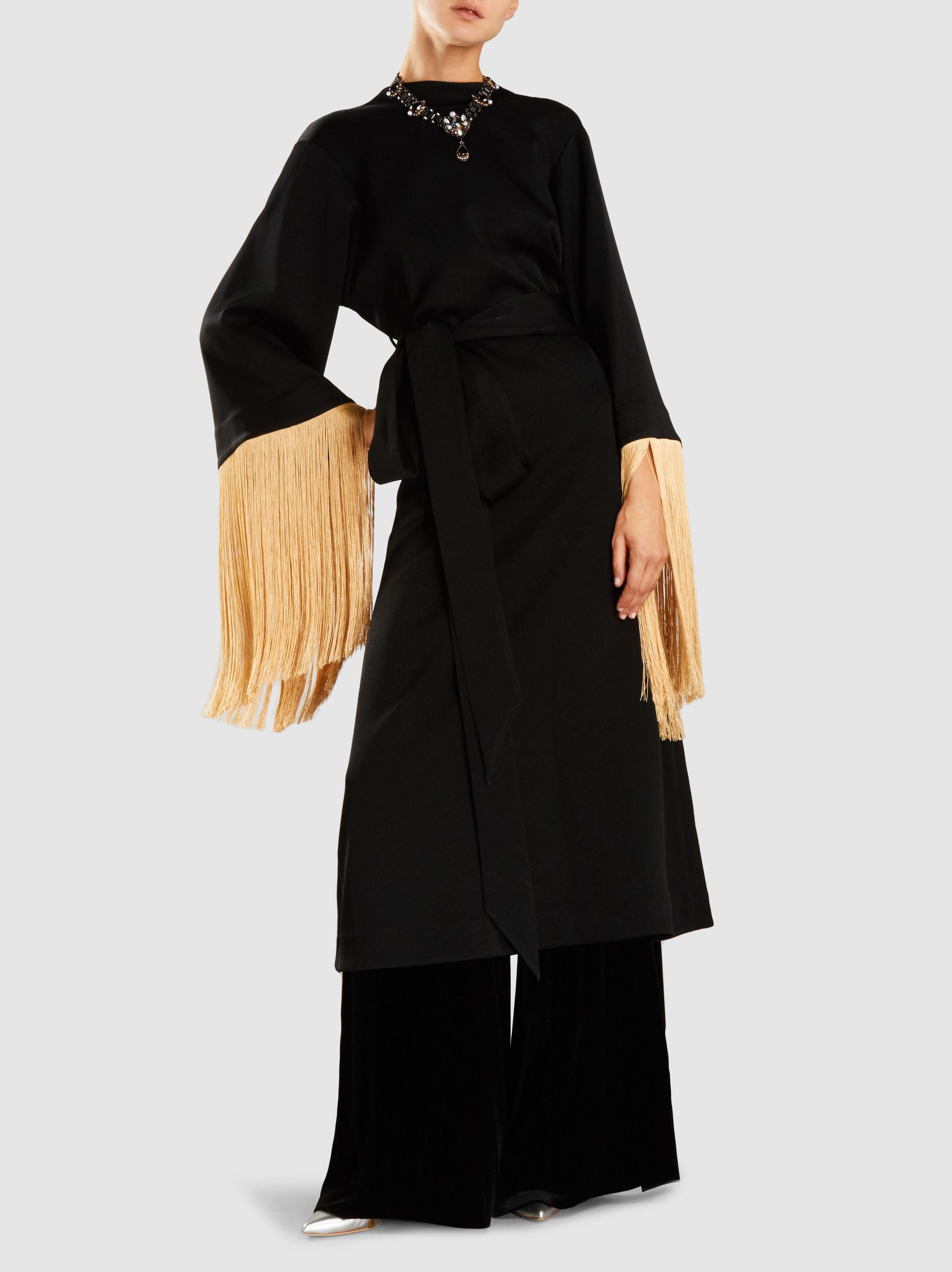 Ritz Fringed Midi Dress Ellery GVnANLSxeK
