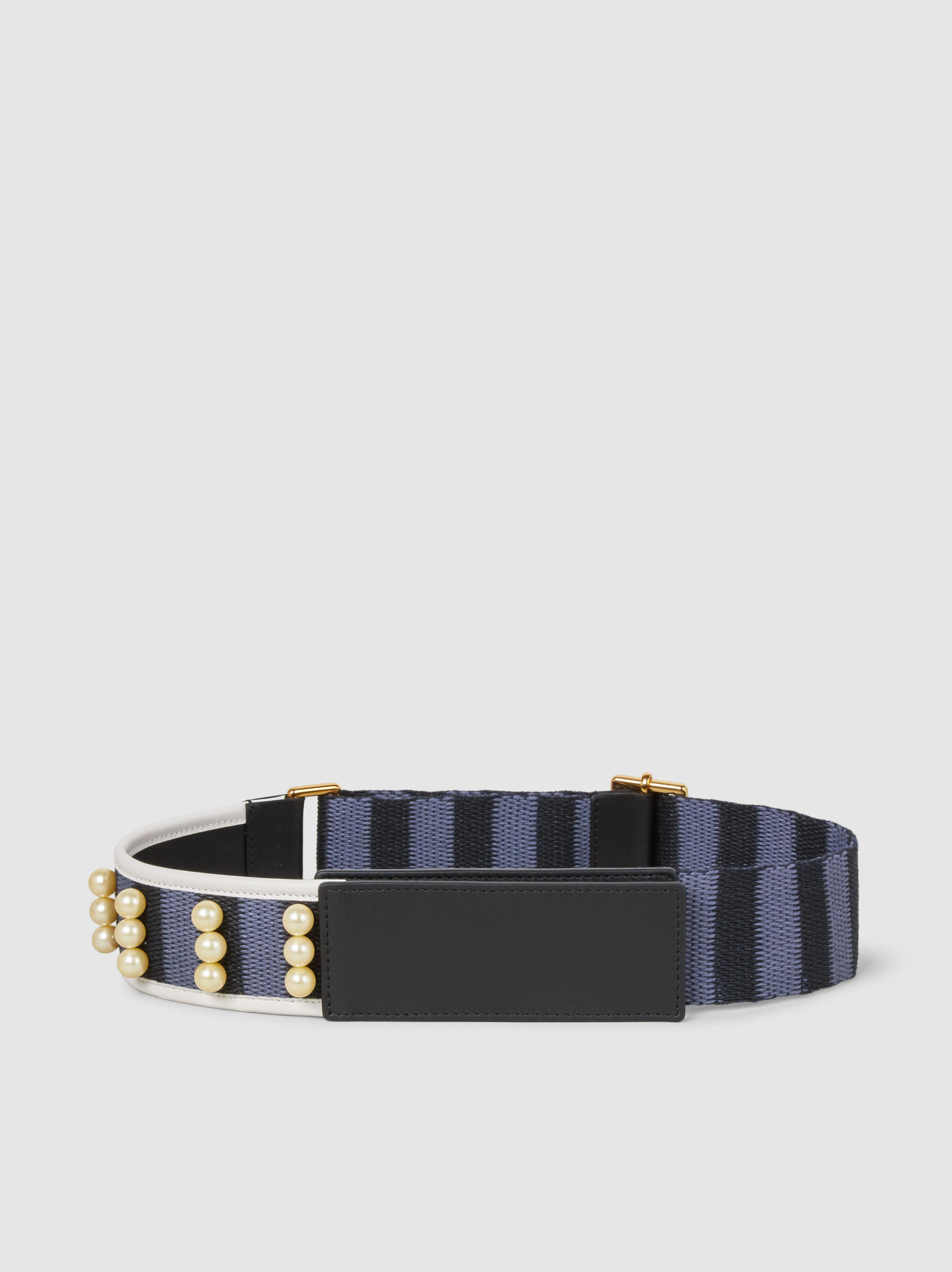 Embellished Leather Belt Marni P0rV1lJMZb