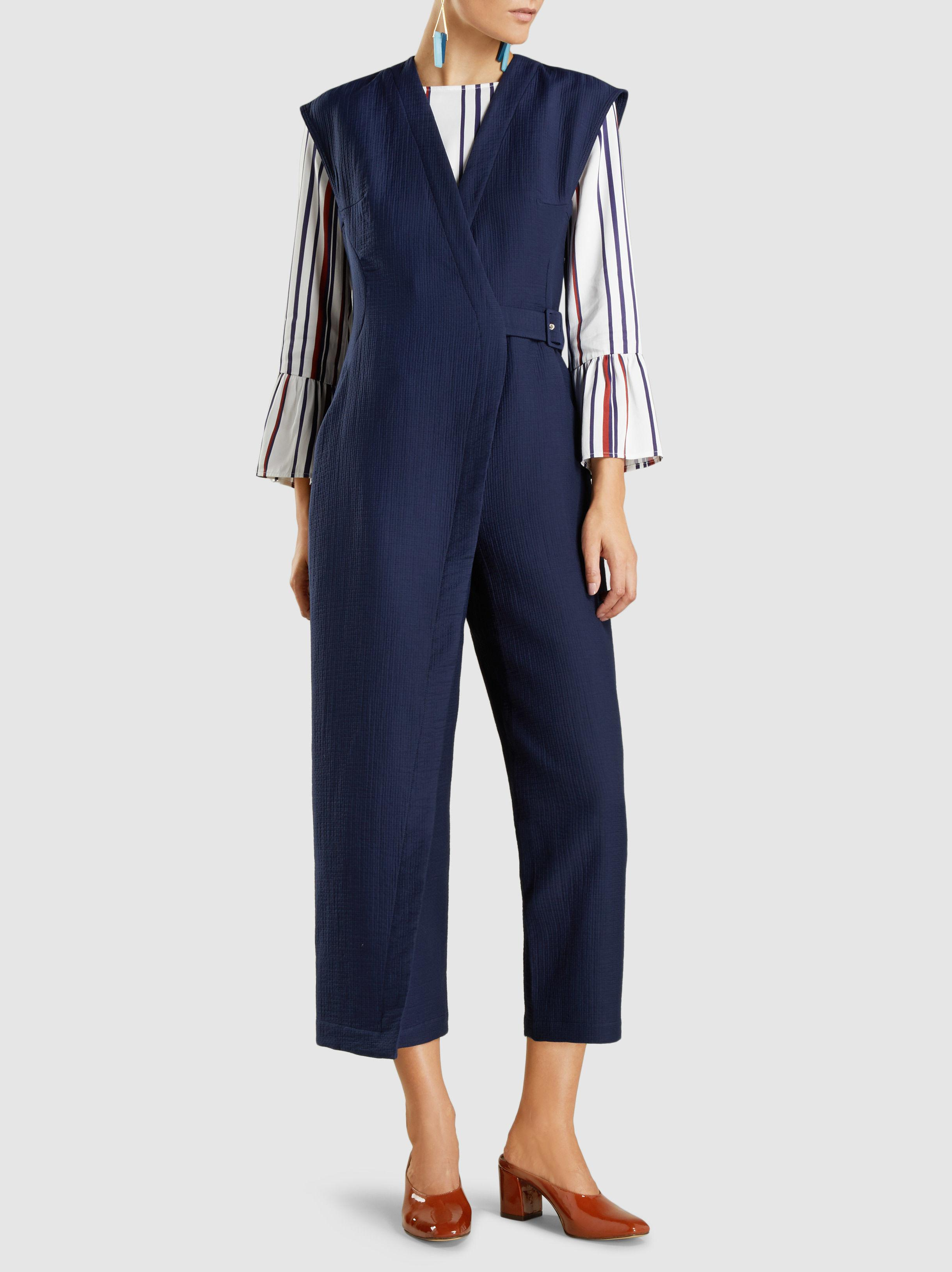 Clearance With Paypal Steadfast Cotton-Blend Jumpsuit Rachel Comey Cheap Online Clearance Discounts Amazing Price Cheap Price xPaIRW