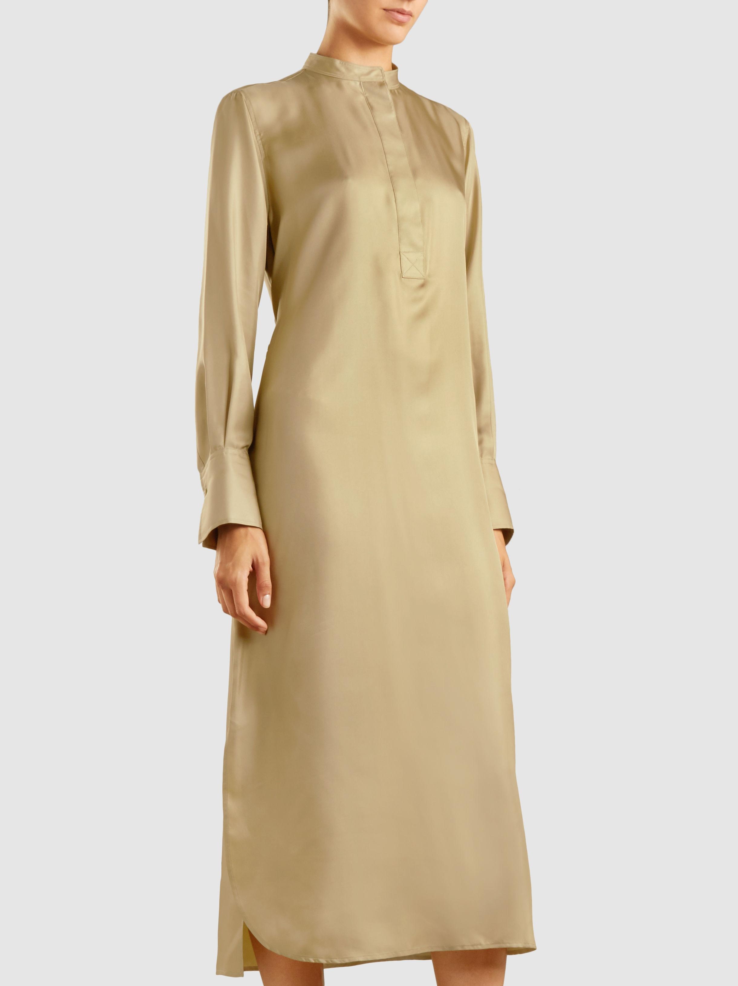 Marla stand-collar silk-twill dress Joseph Extremely Cheap Online Popular GCGrV