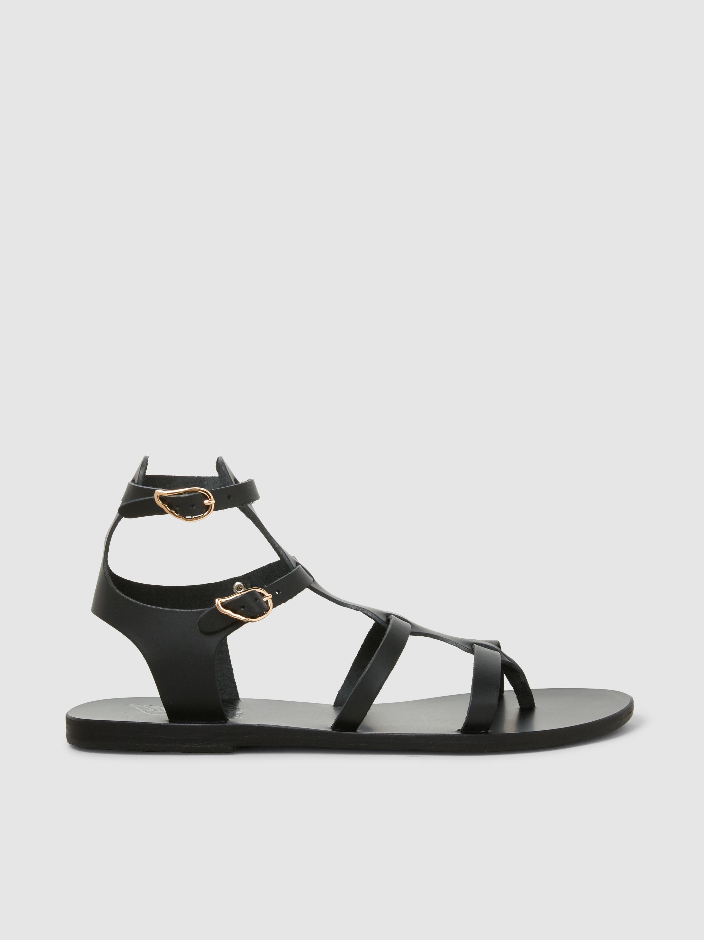 32562ff8e92 Lyst - Ancient Greek Sandals Stephanie Vachetta Leather Sandals in Black