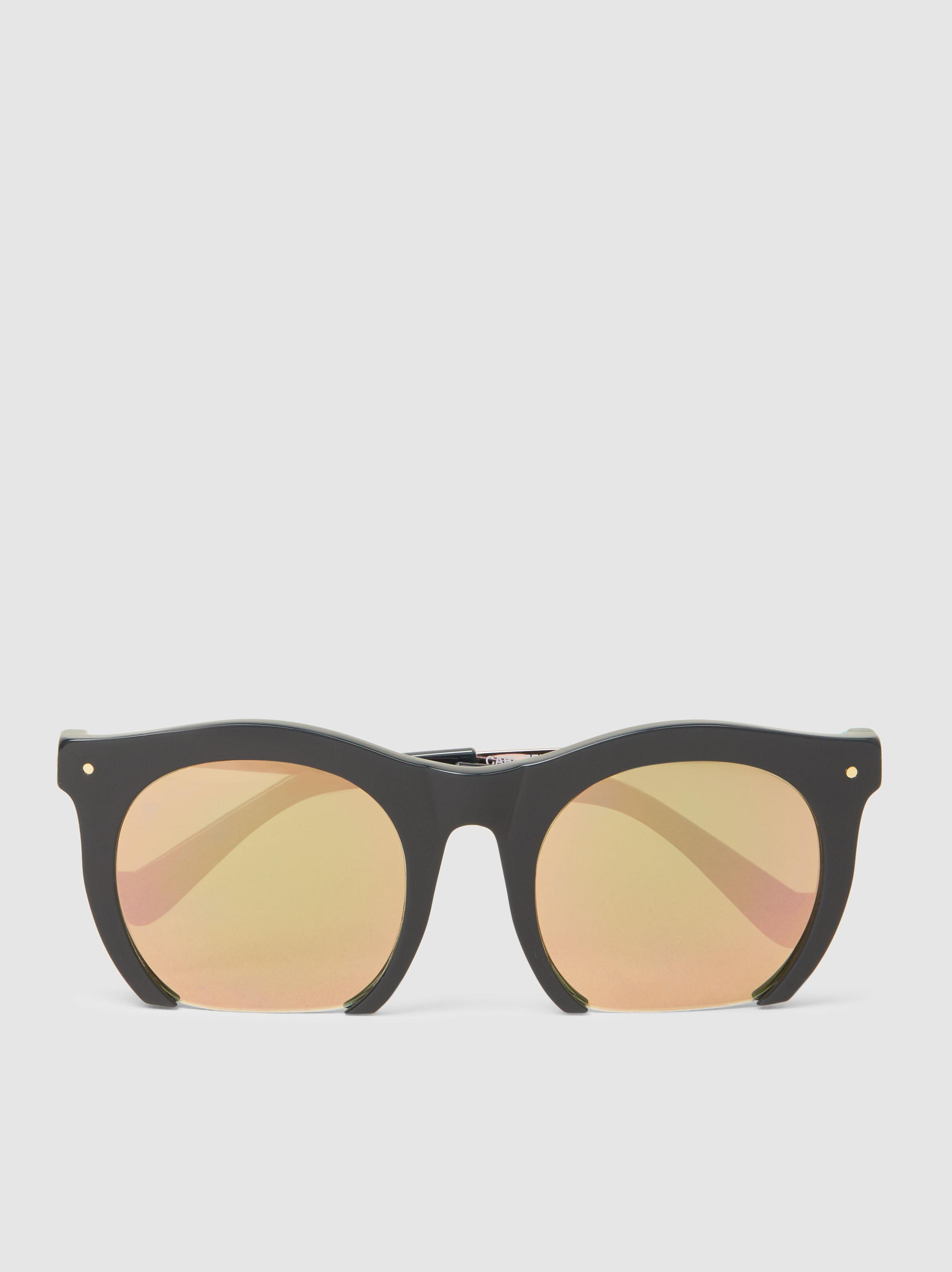f6e0b2875a Lyst - Grey Ant The Foundry Rose Gold Sunglasses in Metallic