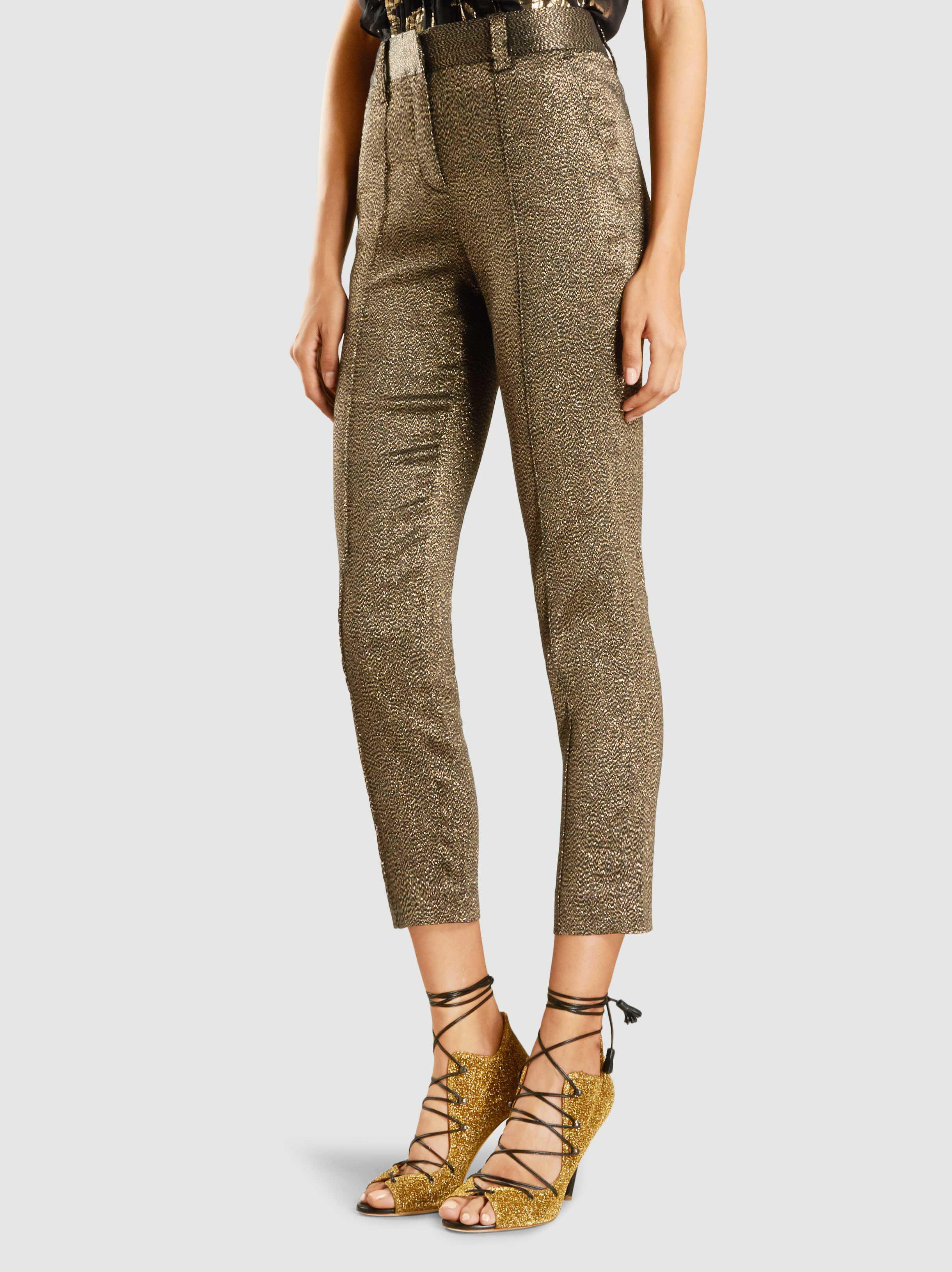 Keaton Metallic Tapered Trousers A.L.C. Xvpk0qKb