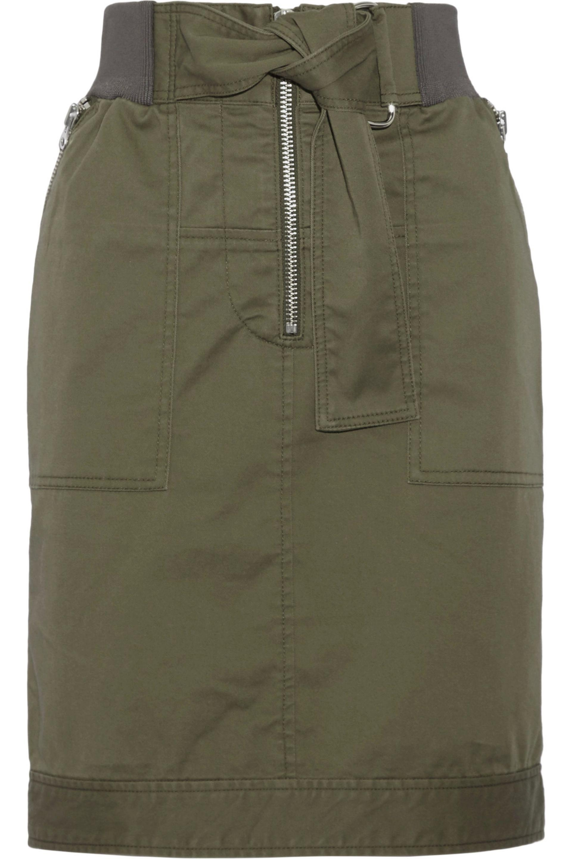 3.1 Phillip Lim Woman Silk Mini Dress Army Green Size 2 3.1 Phillip Lim Buy Cheap Latest Collections Clearance Reliable Buy Cheap Nicekicks Clearance Release Dates XZbhW3Ge