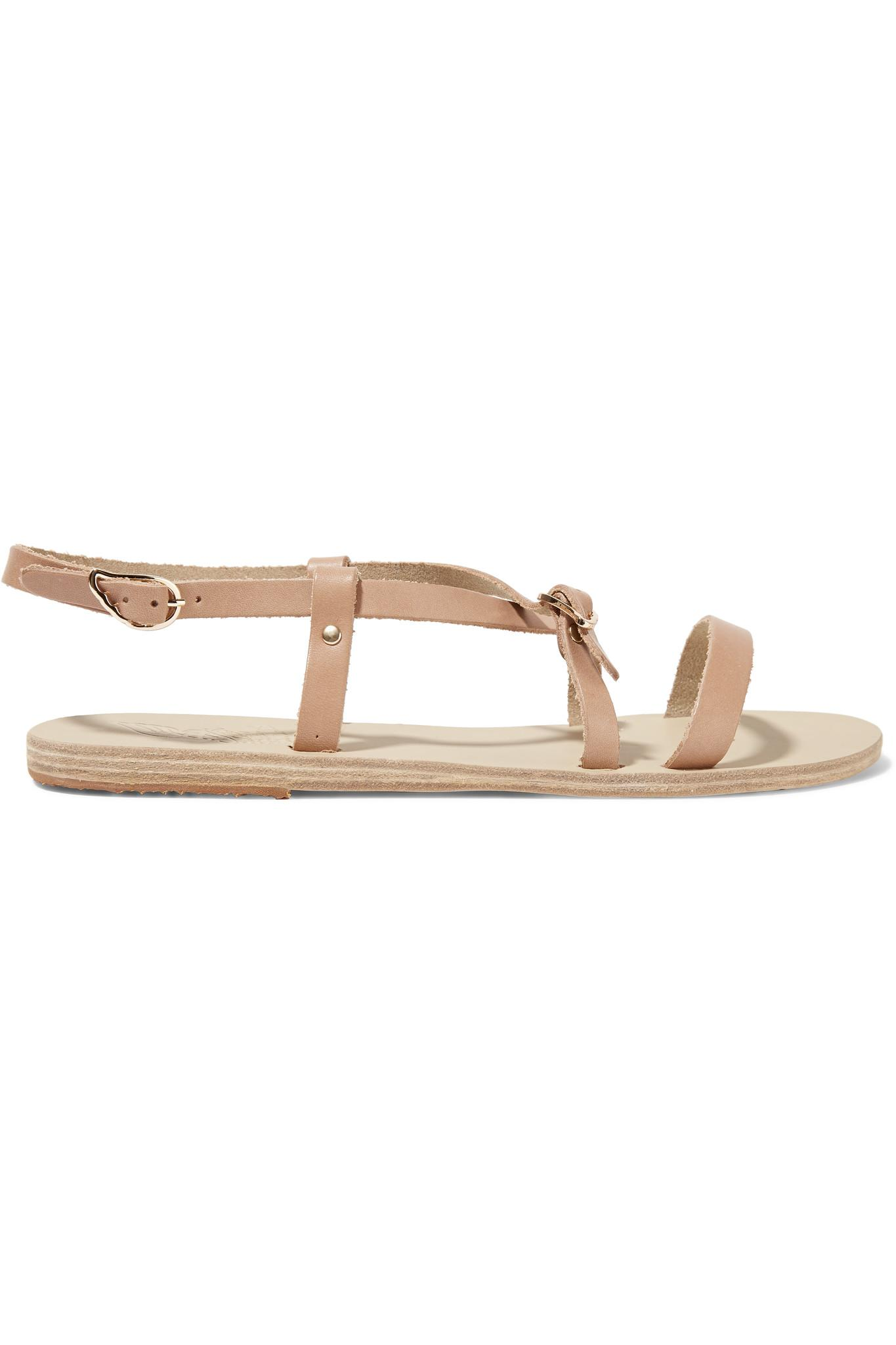 70a87c6cc34 Lyst - Ancient Greek Sandals Sofia Leather Sandals in Natural