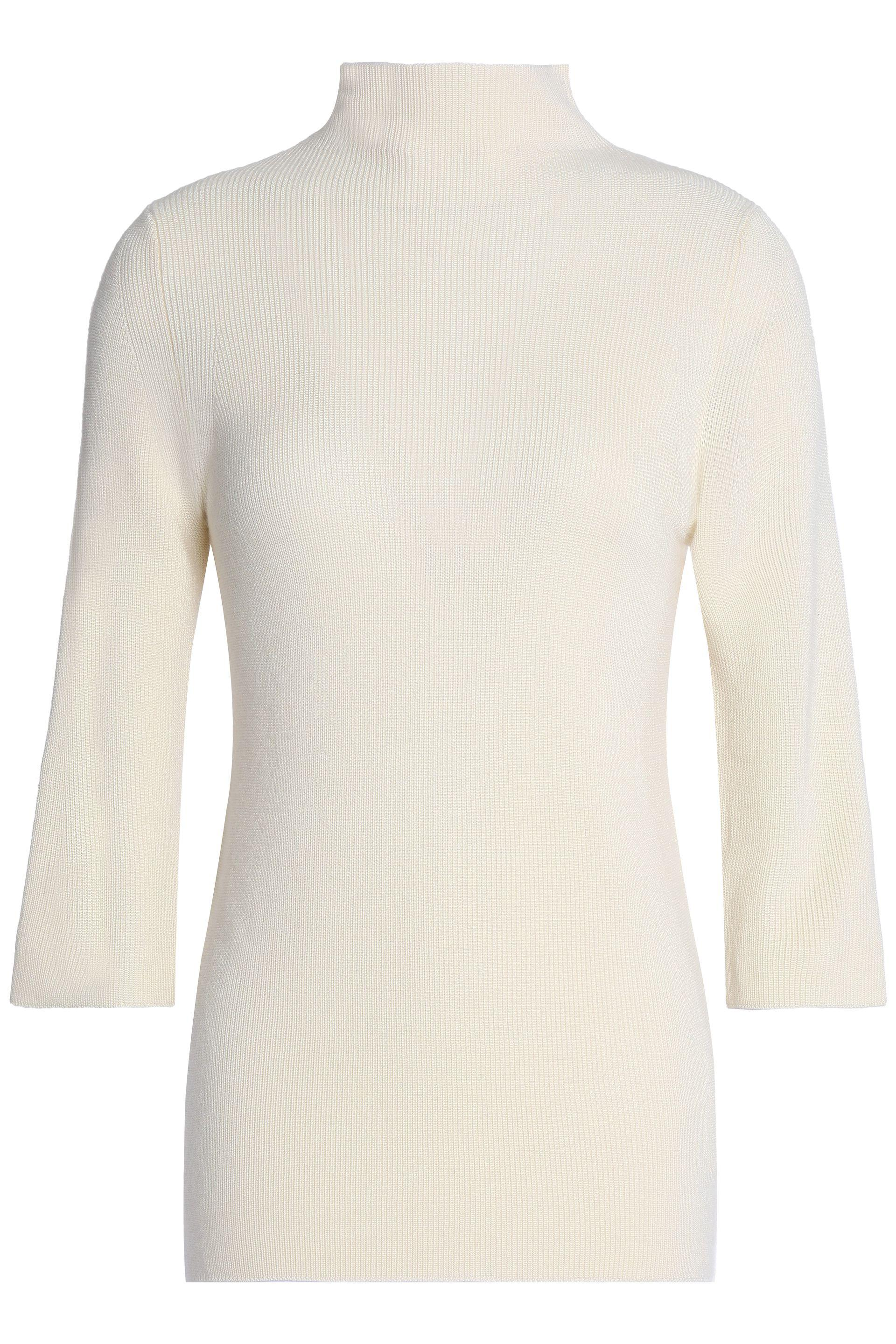 2a57321160 Pringle Of Scotland Merino Wool And Silk-blend Turtleneck Sweater in ...
