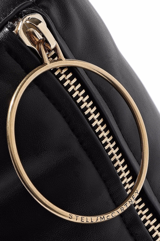 0d9125daeeb3 Stella McCartney - Woman Puffer Mini Faux Leather Shoulder Bag Black -  Lyst. View fullscreen