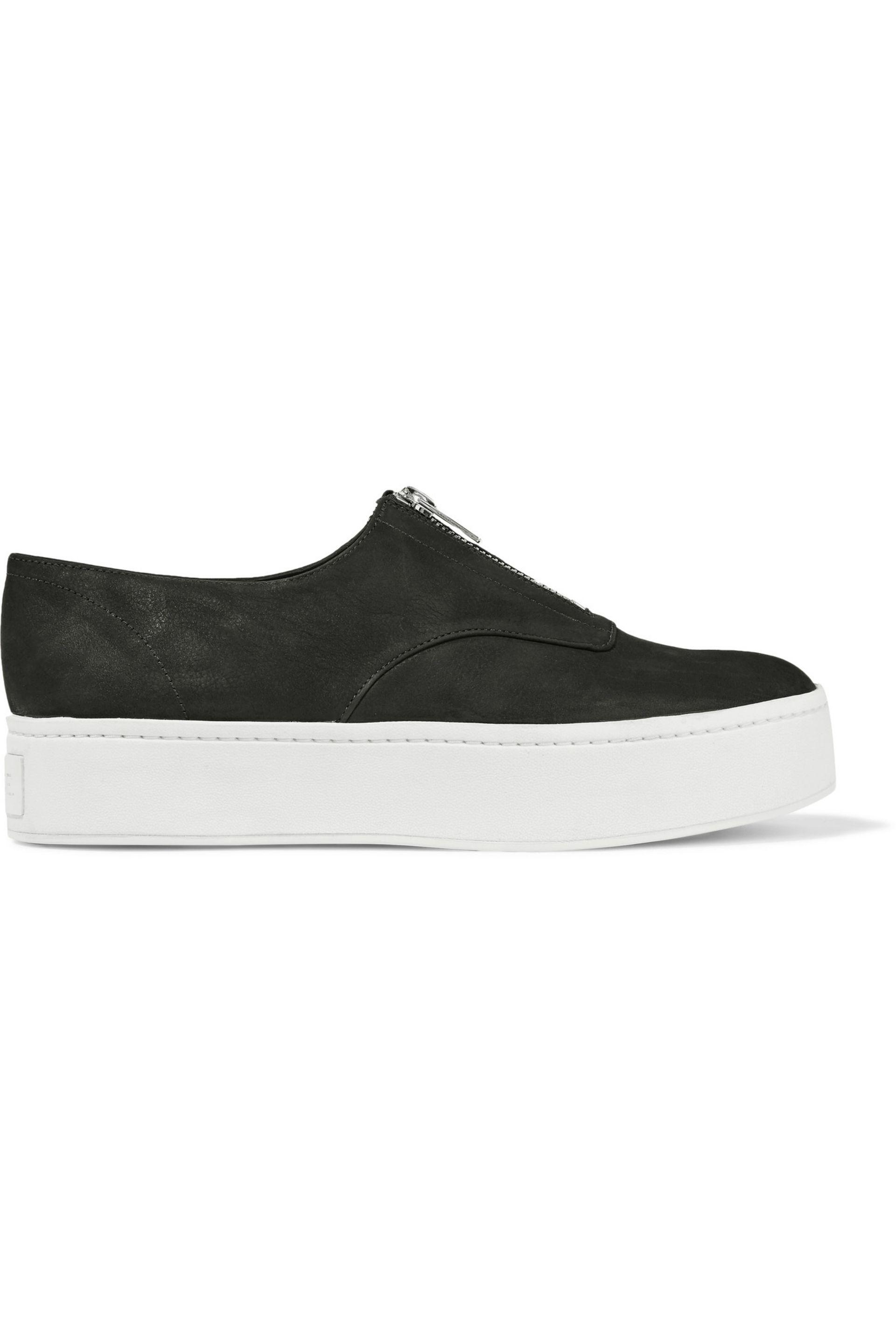Vince. Women's Black Warner Nubuck Sneakers