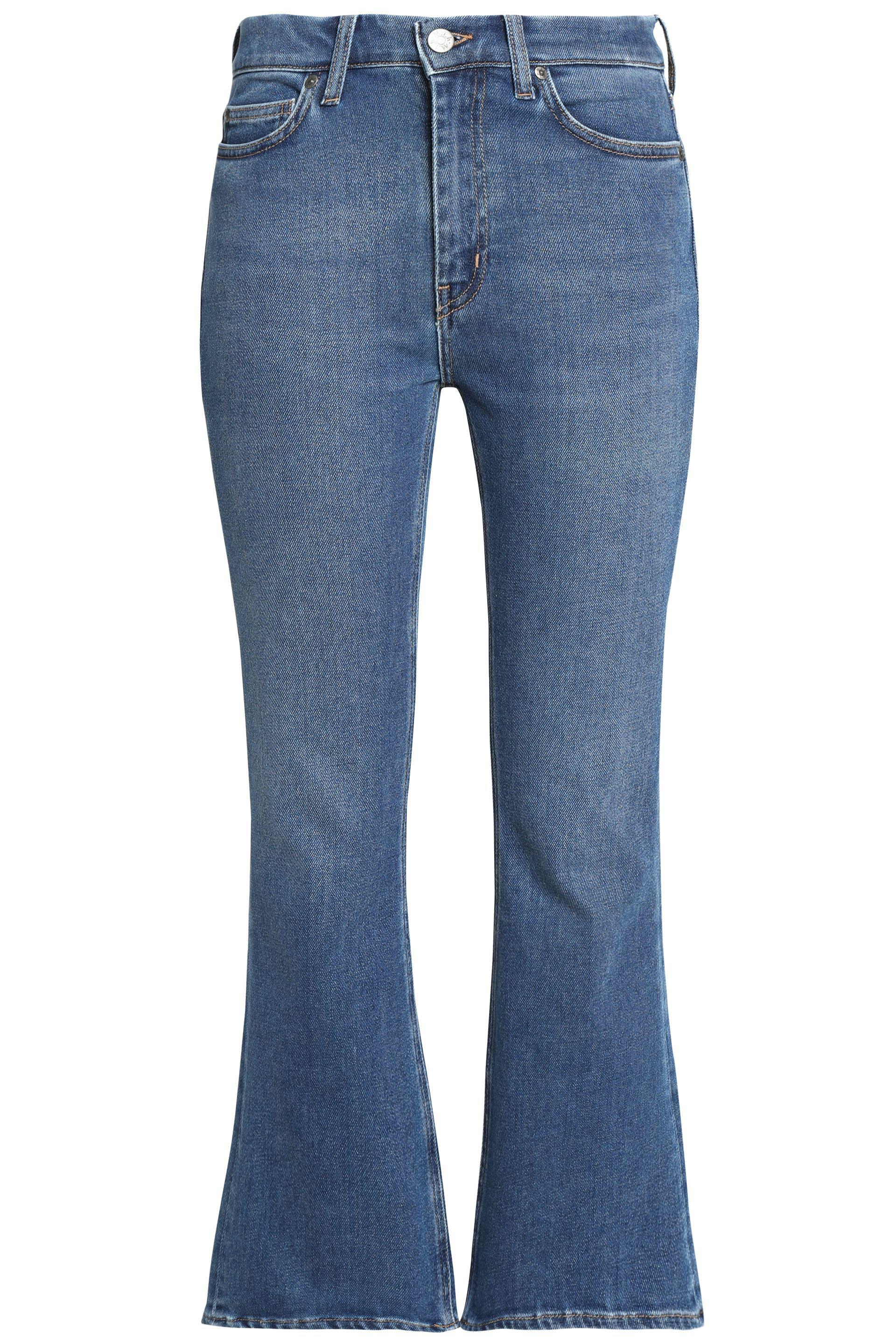 M.i.h Jeans Woman Mid-rise Flared Jeans Mid Denim Size 24 Mih Jeans Fashion Style Perfect Cheap Online Discount How Much Sale Latest Collections 2018 Unisex For Sale XAzkU