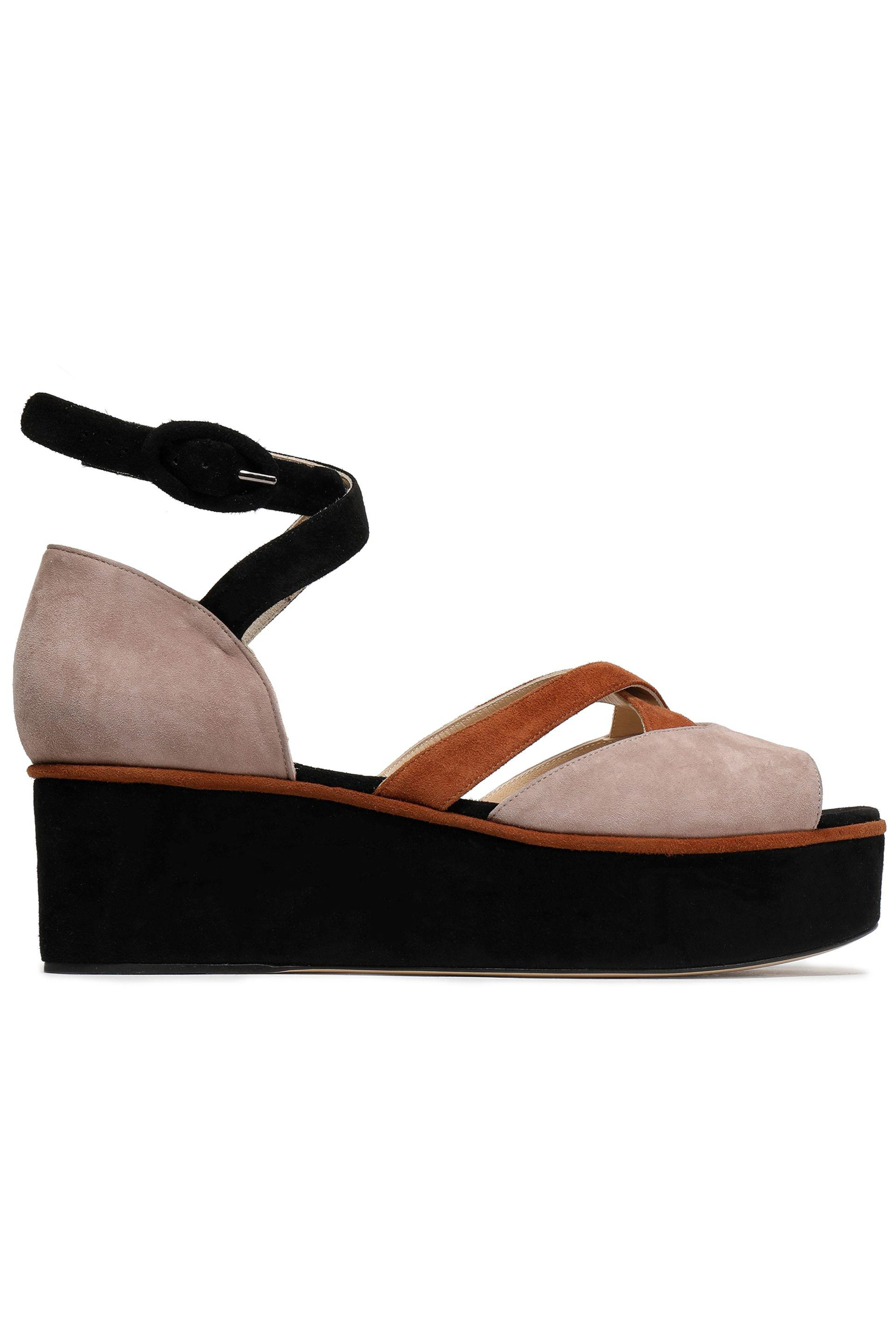 outlet real choice sale online Paul Andrew Suede Platform Sandals free shipping pictures sale how much outlet big sale eaAqxdjAQB