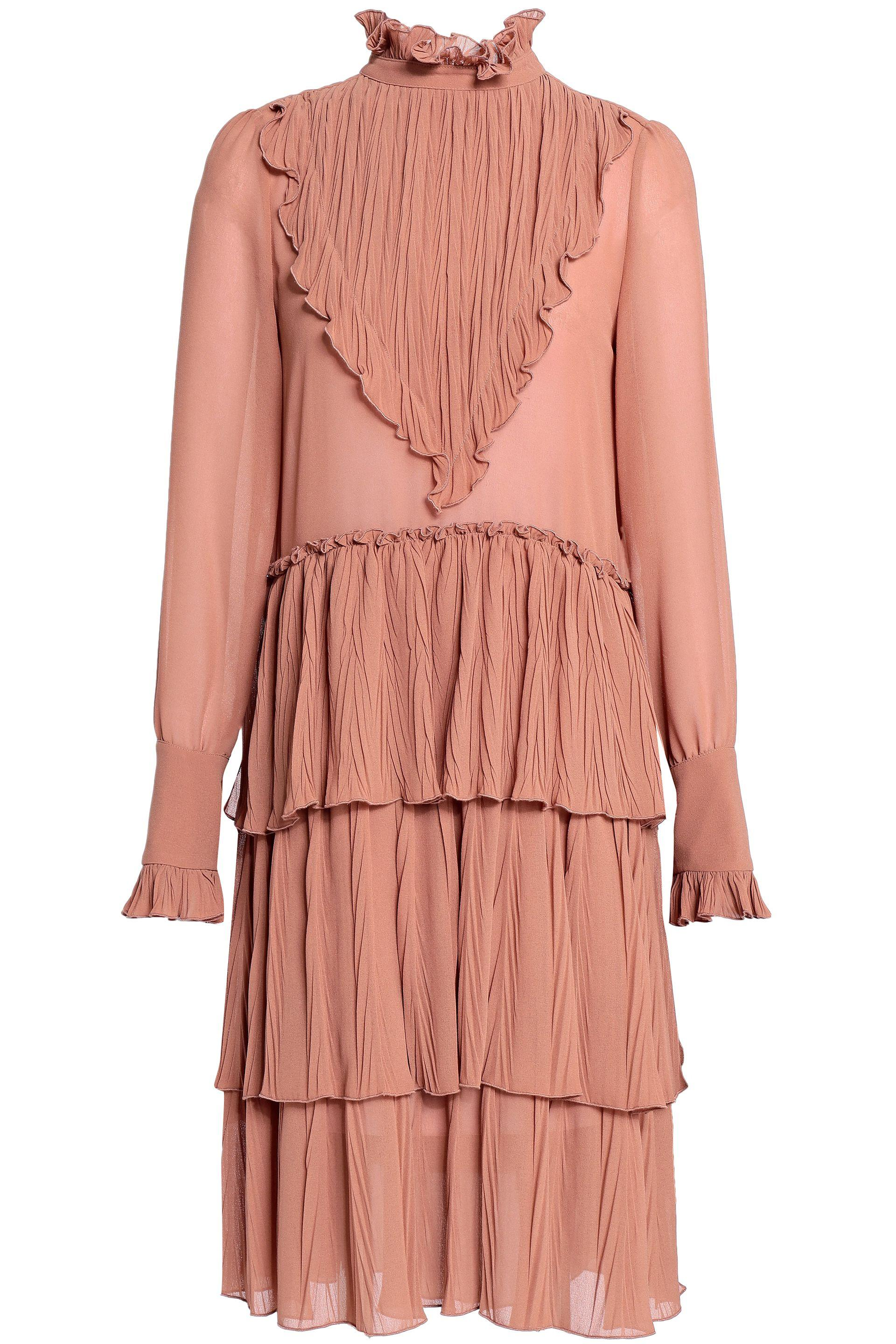 Lyst Plissé Chloé Woman See By Tiered Paneled eEHDIW29Yb