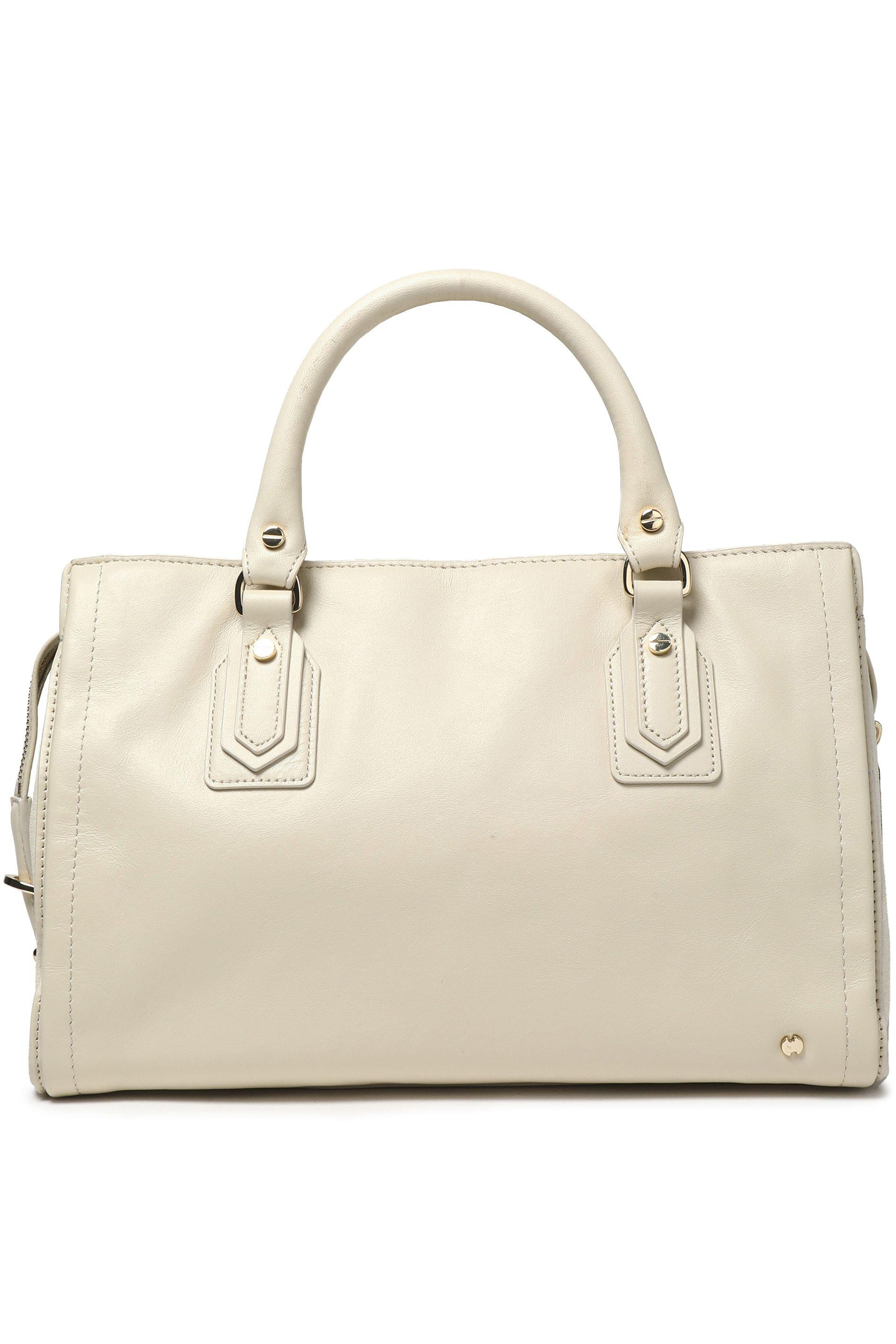 484ee9d095 Halston Heritage - Multicolor Woman Leather Shoulder Bag Off-white Size --  - Lyst. View fullscreen