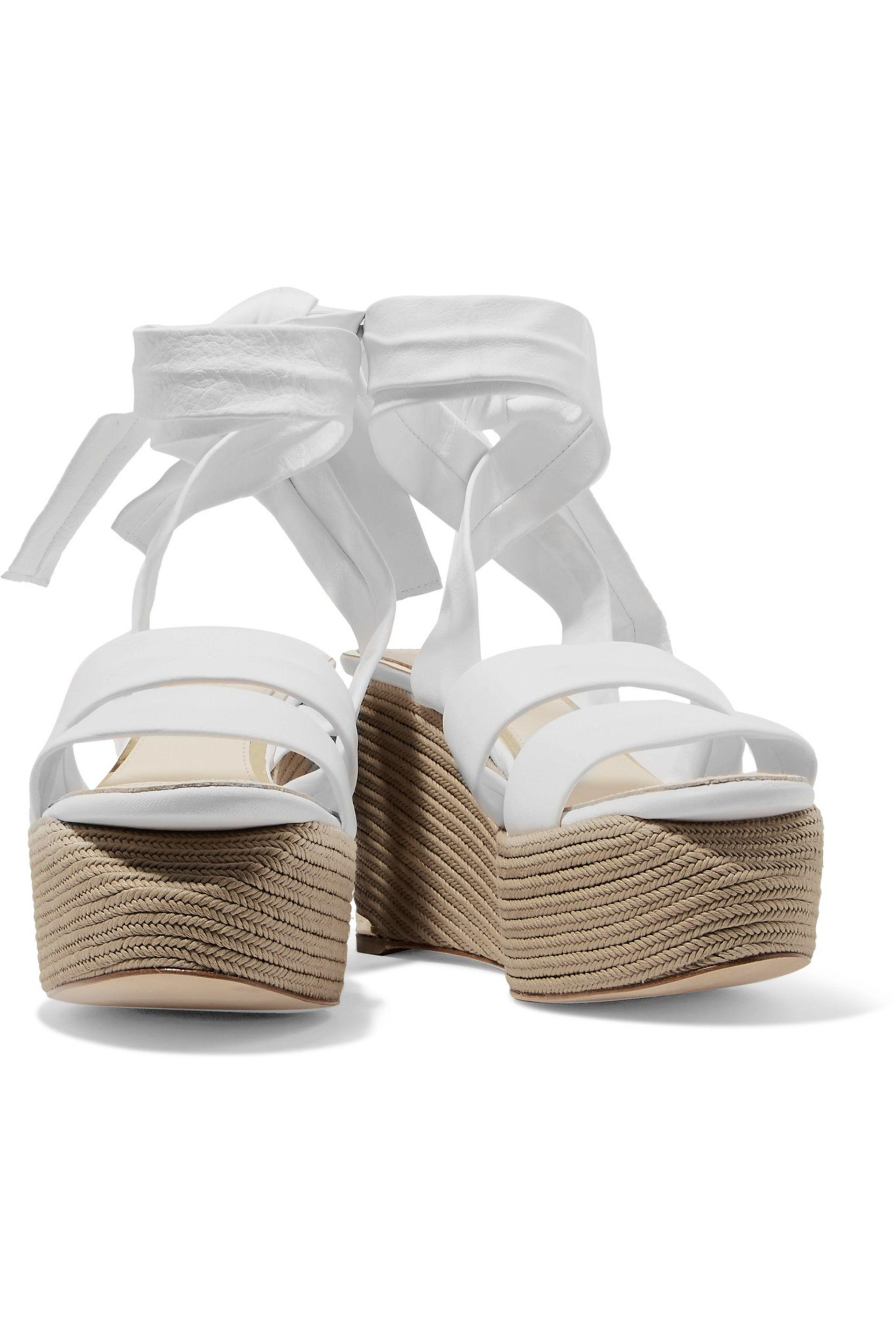 dbb19b3fead Gallery. Previously sold at  THE OUTNET.COM · Women s White Platform Wedges  ...