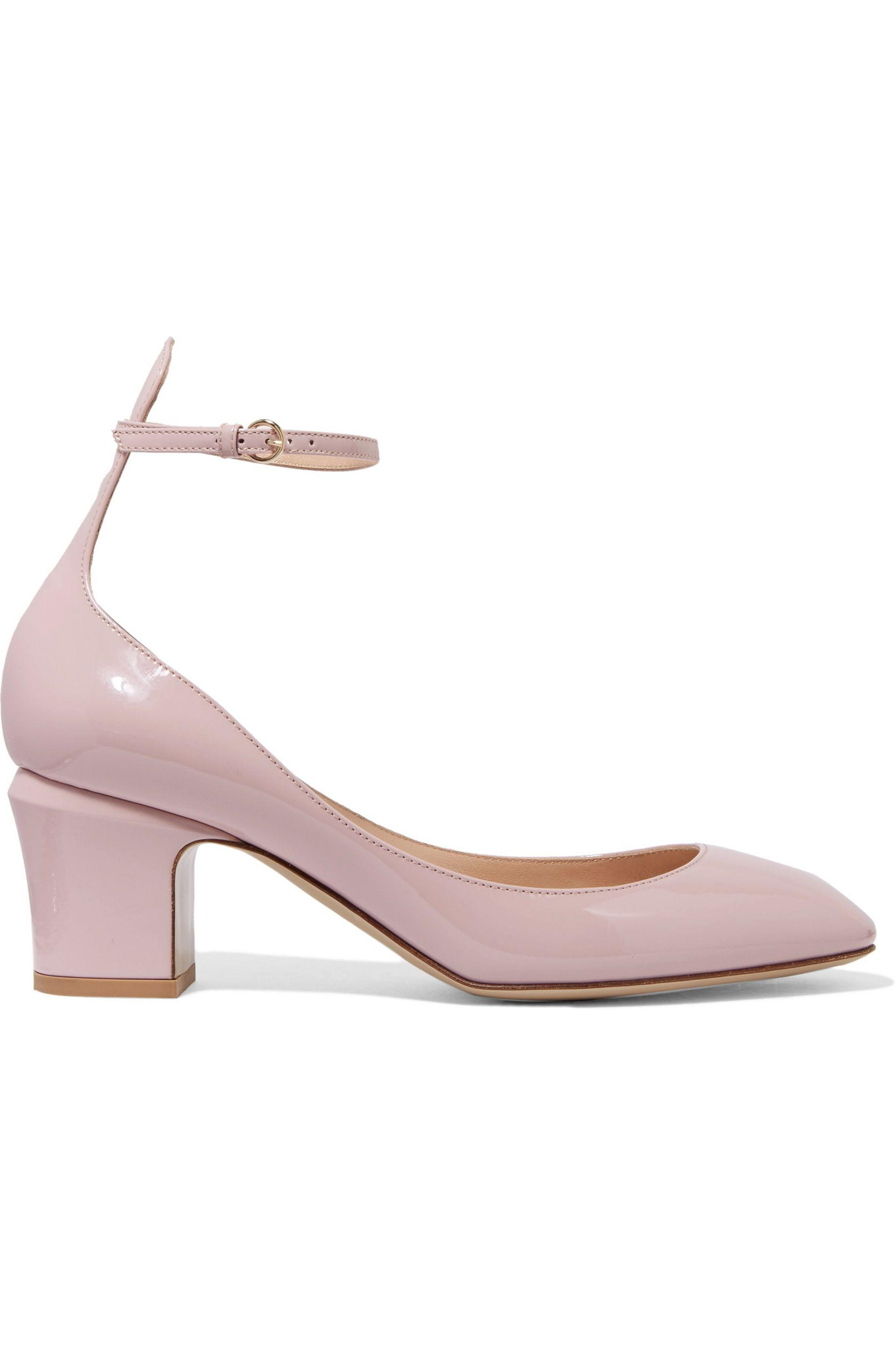 Baby Pink Louboutin Shoes