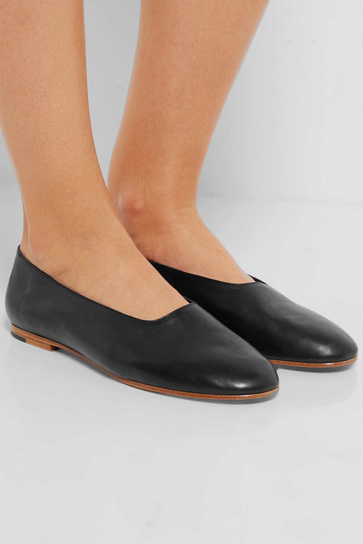 Vince Women's Maxwell Leather Flats 9zUuU0iOEX