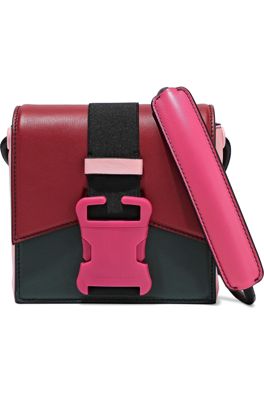 50c7bd0f2e Christopher Kane - Woman Bonnie Color-block Leather Shoulder Bag Multicolor  - Lyst. View fullscreen