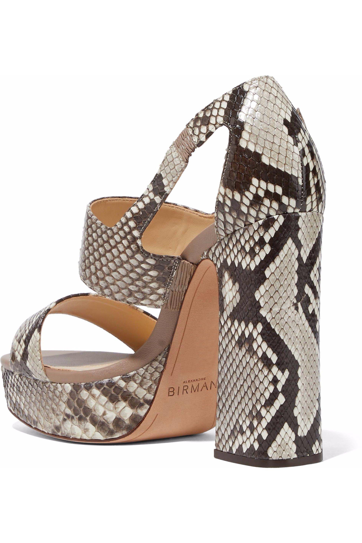 Alexandre Birman Animal Print Multistrap Sandals 2015 new for sale cheap sale marketable original quality original dEjZTPArsK