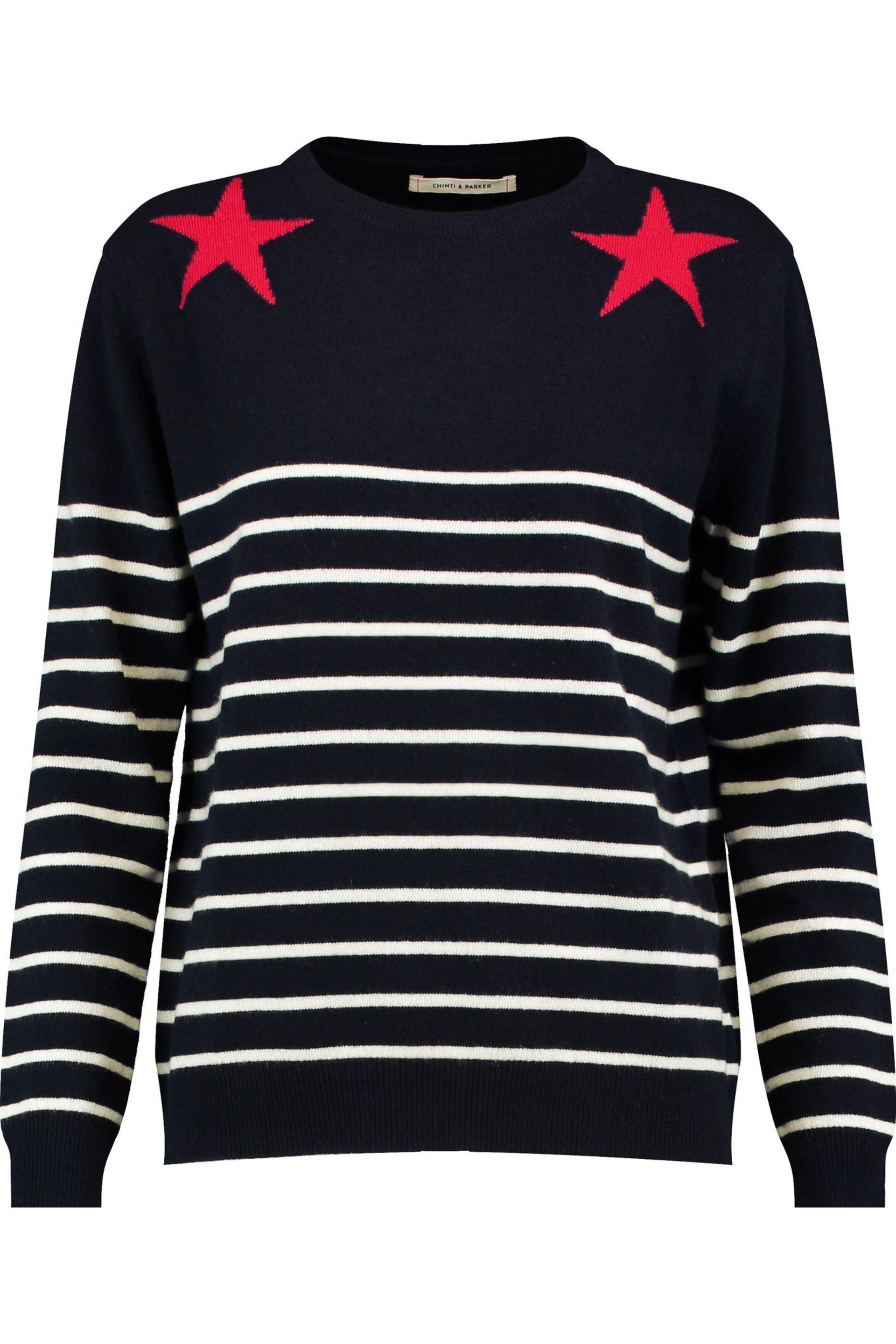 Buy Cheap Choice Chinti And Parker Woman Intarsia Merino Wool Sweater Gray Size XL Chinti and Parker Discount Official Site Buy Cheap Get To Buy Good Selling Cheap Price mhrlU