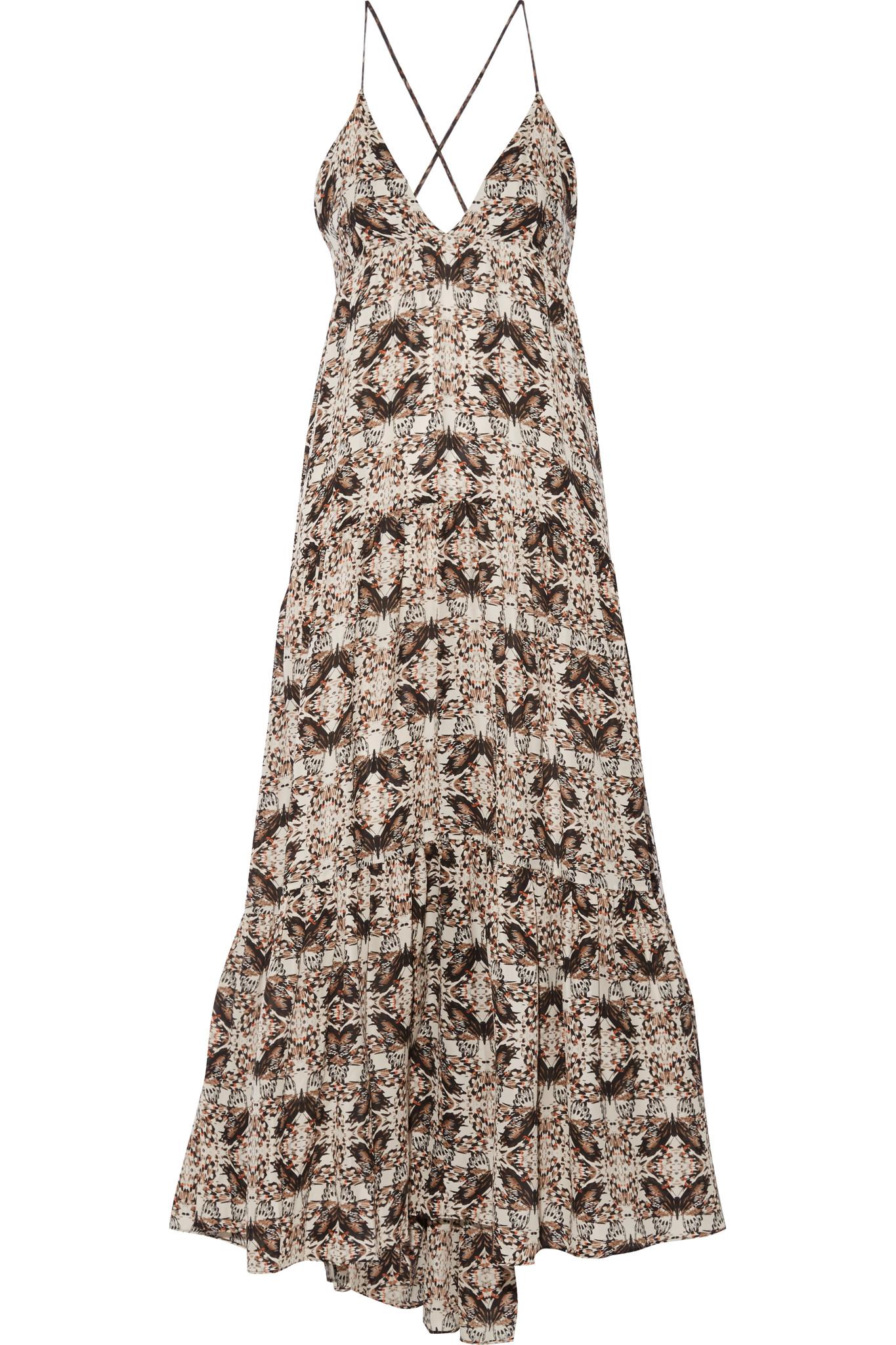 River Island White Pleated Maxi Dress