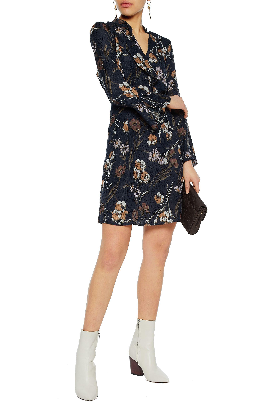 Discount Manchester Official Sale Online Derek Lam Printed Mini Dress Enjoy Online Outlet Store For Sale Cheap Buy nMzjaM