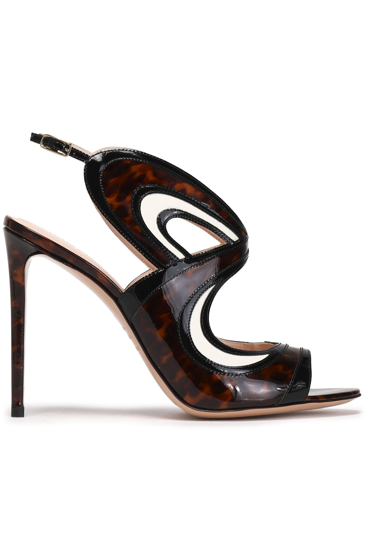 Nicholas Kirkwood Woman Leather-trimmed Python Platform Sandals Off-white Size 38 Nicholas Kirkwood ZxNHZbg