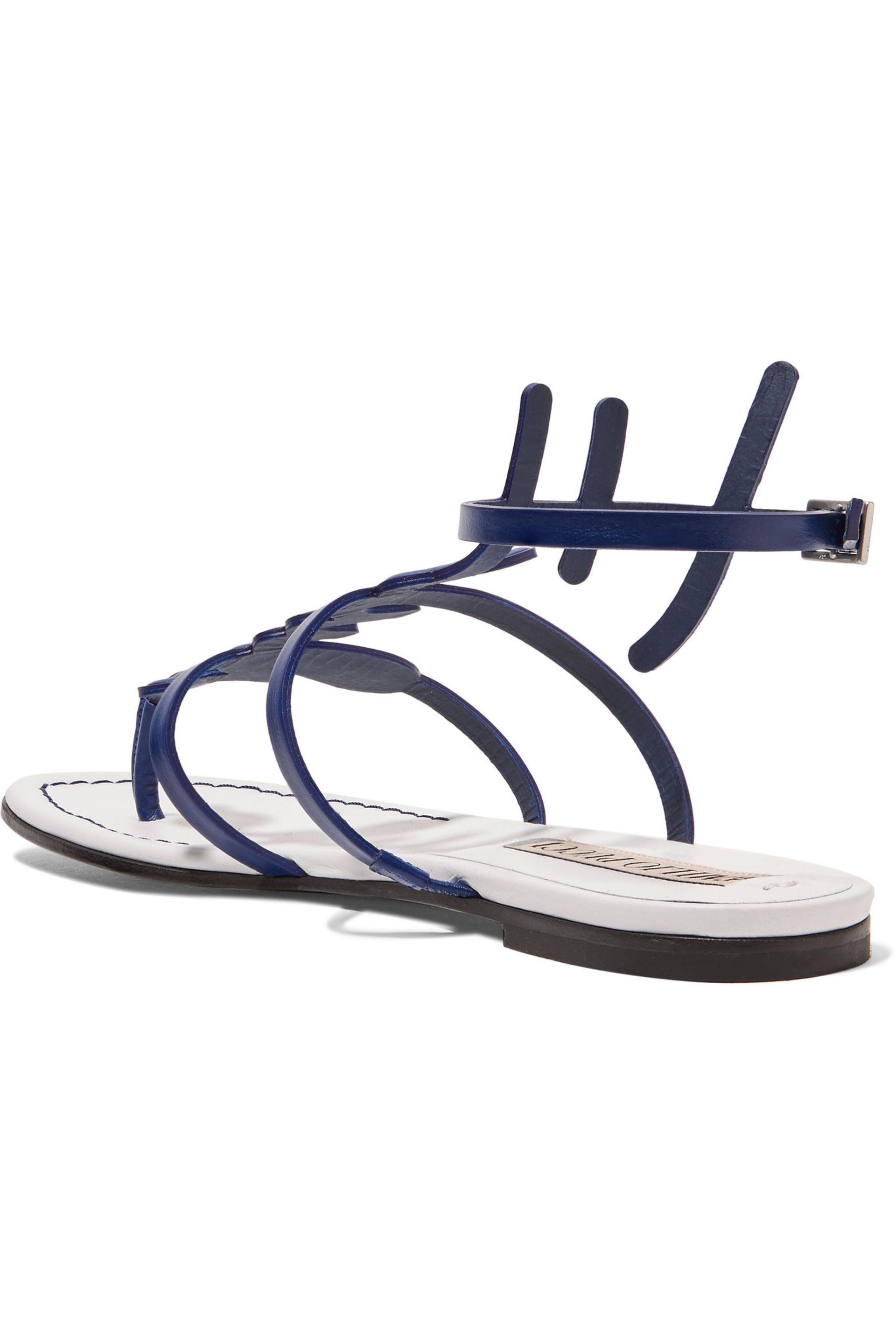 Emilio Pucci Leather Sandal Clearance Extremely Fashion Style Sale Choice With Credit Card Online Discount Wholesale Price 9mLpzI0JEA