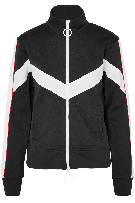 a2f6167d9a60 Off-White c o Virgil Abloh. Women s Woman Striped Satin-jersey Jacket Black