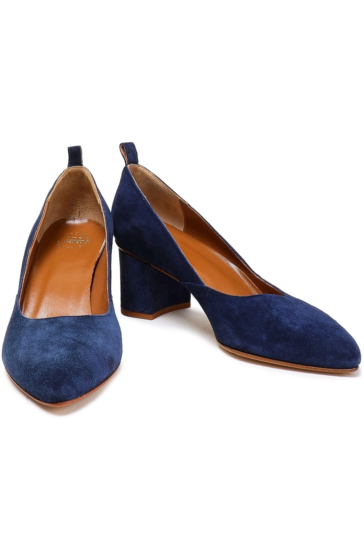 562456a6299c Atp Atelier Woman Suede Pumps Cobalt Blue in Blue - Lyst