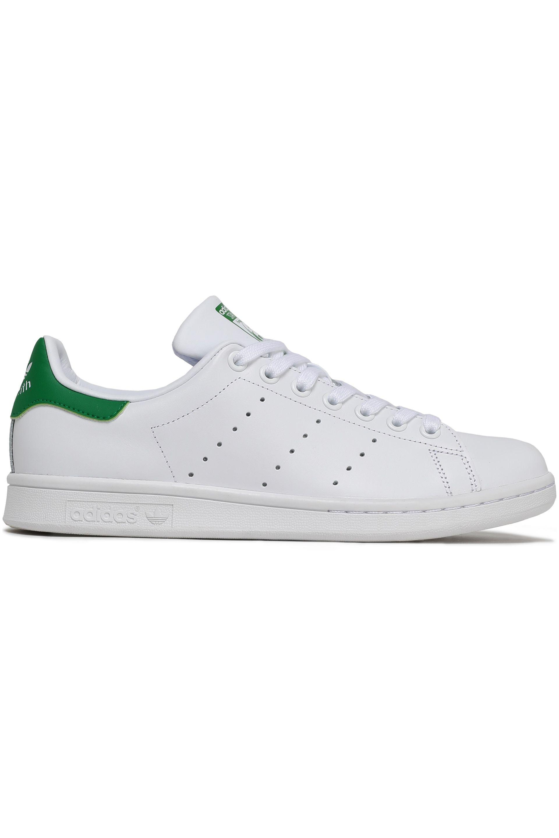 In Adidas Perforated Sneakers Leather Woman Originals White Lyst Y67bfgy