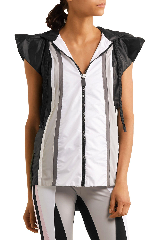 No Ka 'oi | White Moe Paneled Shell Hooded Vest | Lyst. View Fullscreen