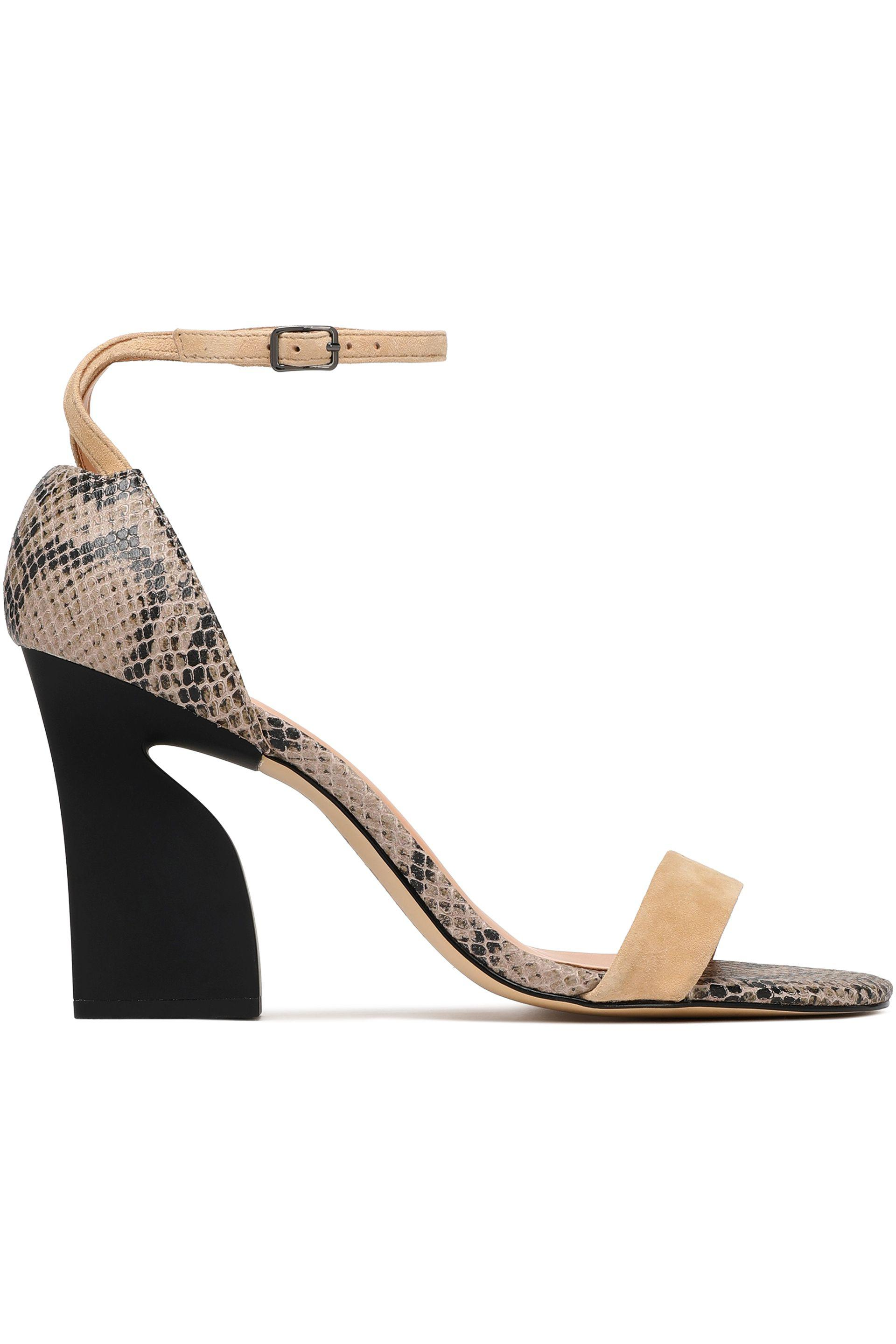 283f3ff72 halston-heritage-Beige-Snake-effect-Leather-And-Suede-Sandals.jpeg
