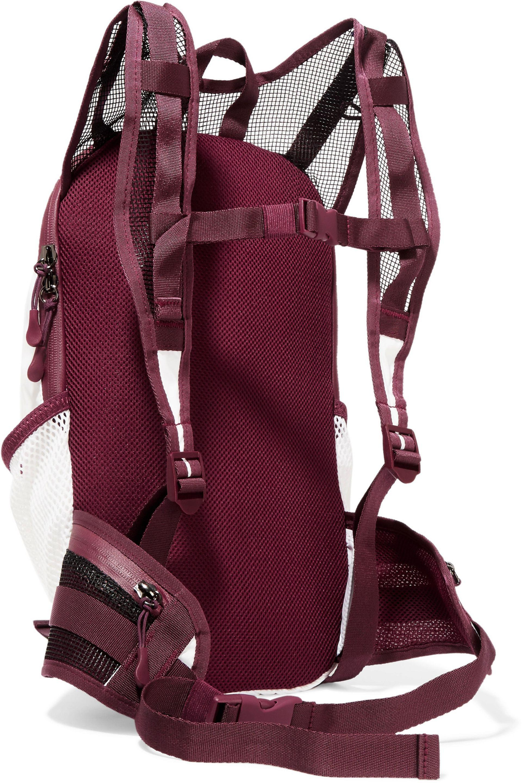5fe8d2aa1c Adidas By Stella Mccartney Run Mesh-paneled Color-block Shell ...