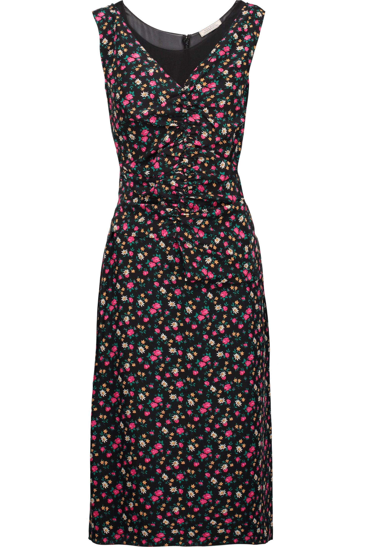 floral print dress - Black Nina Ricci KsaSu8WUv